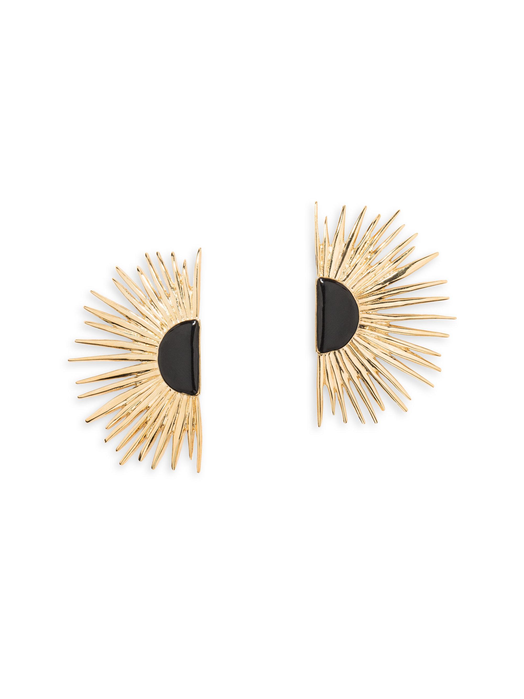 Aurélie Bidermann Duchesse pin earrings with enamel 0kkgz7BFRj