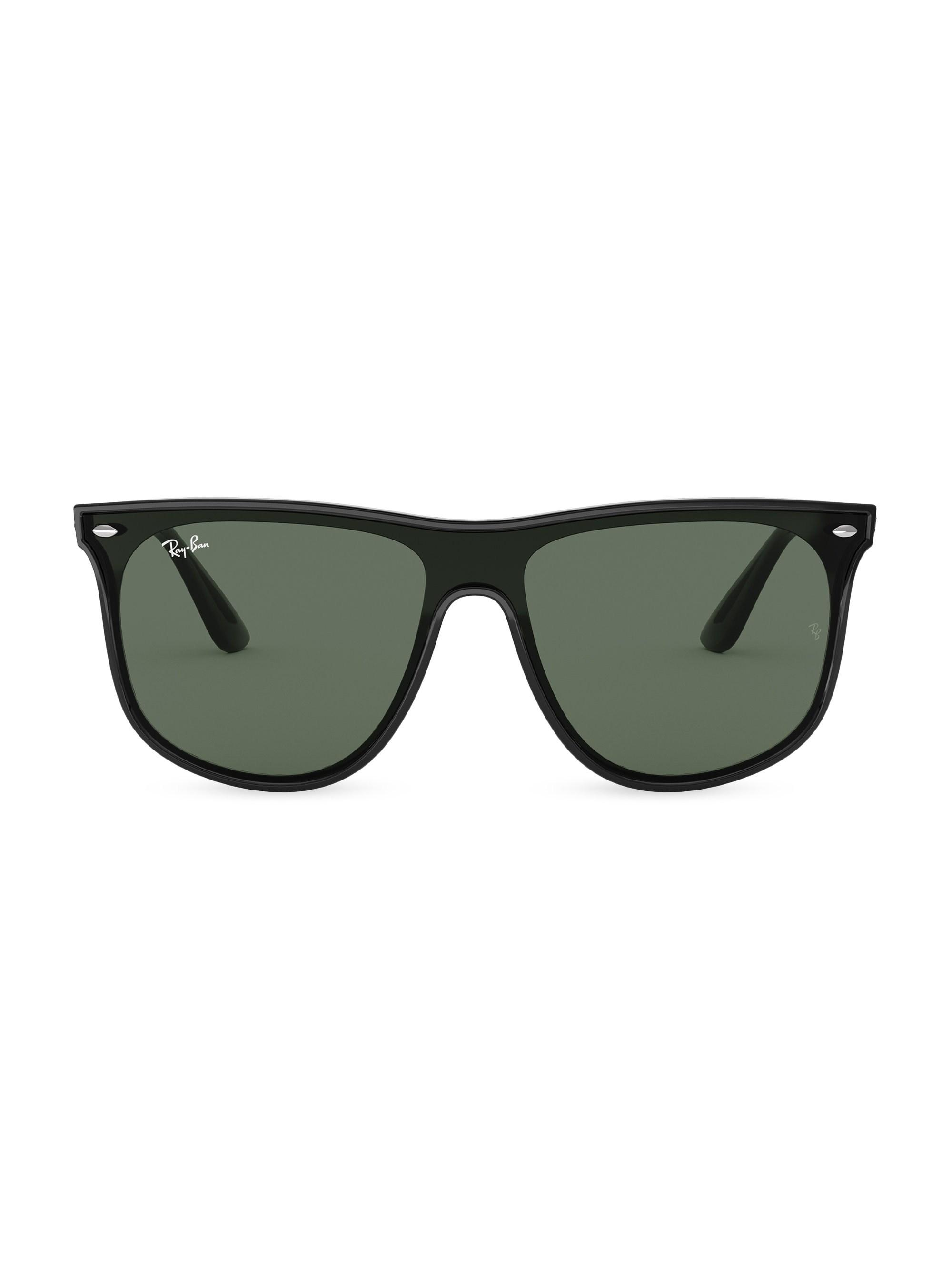 abbeb3762de2b Ray-Ban Men s 40mm Wayfarer Sunglasses - Black in Black for Men - Lyst