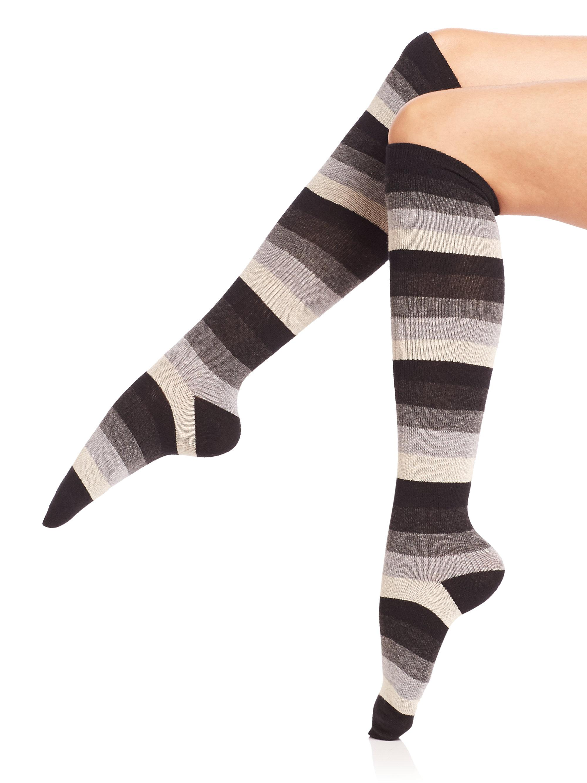 4555daaff Gallery. Previously sold at  Saks Fifth Avenue · Women s Knee High Socks ...
