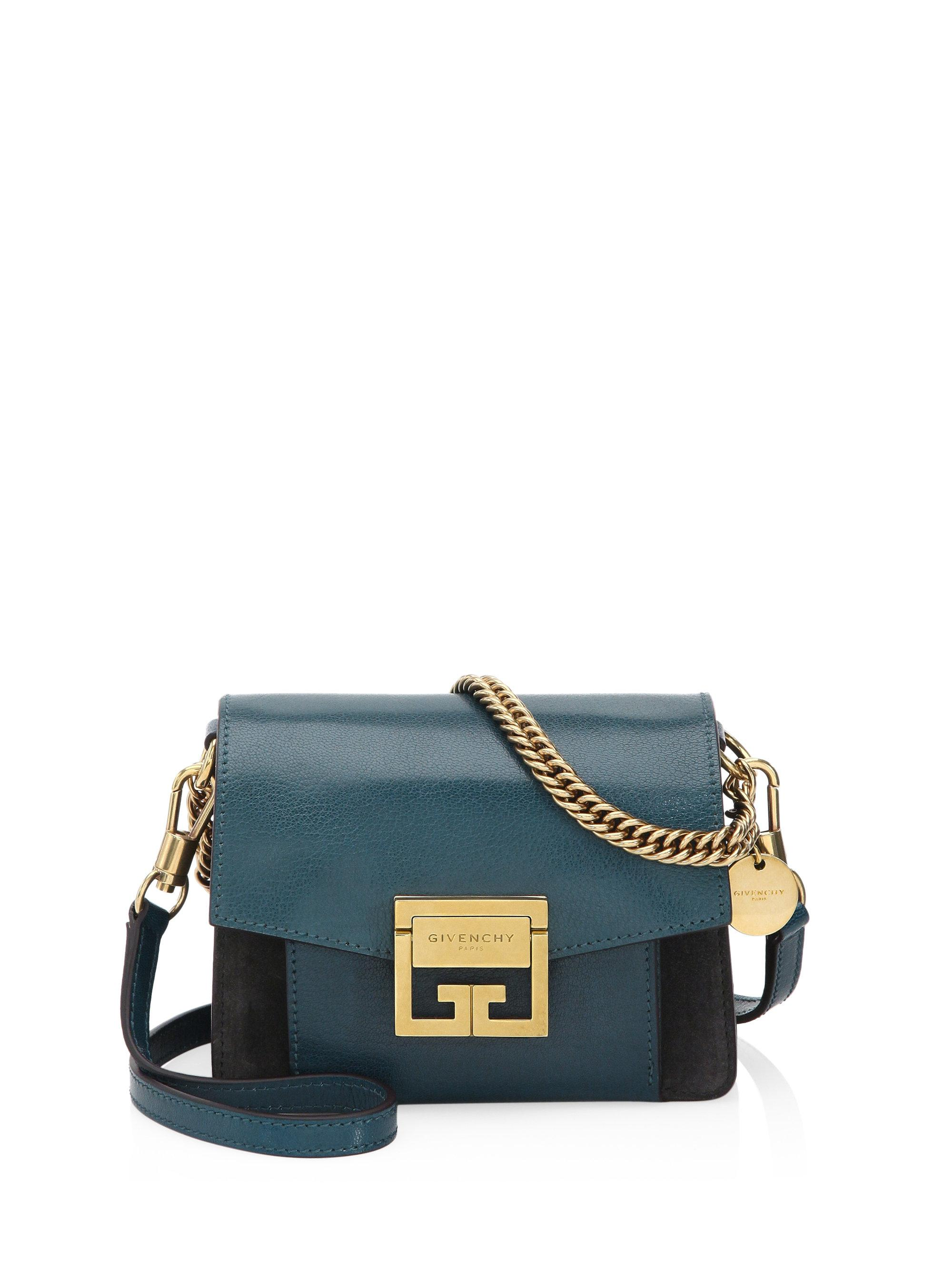 Sale Release Dates Mino GV3 shoulder bag - Blue Givenchy High Quality Buy Online Finishline Cheap Price Cheap Sale Browse LwEPP