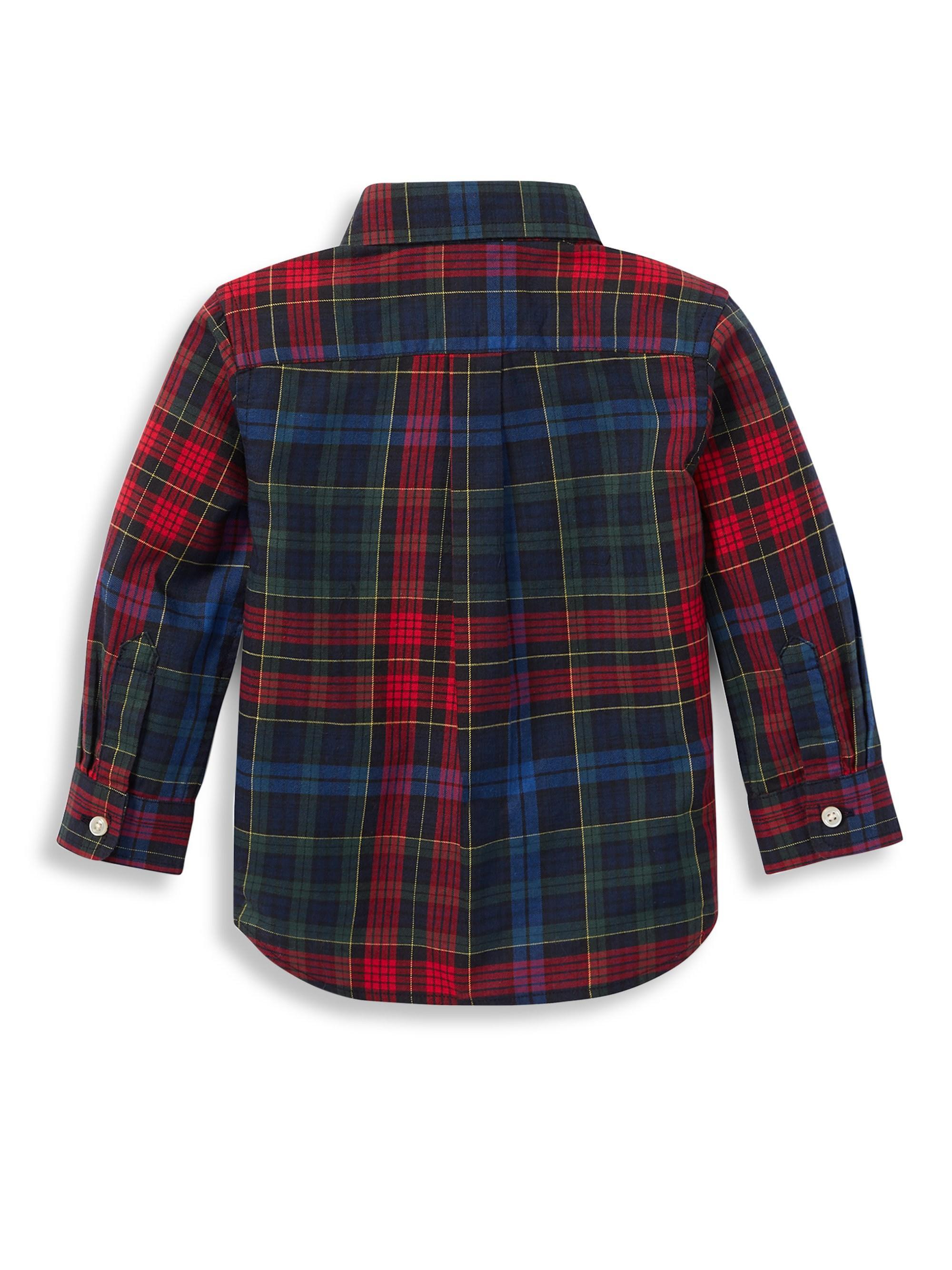 207c730e0 Lyst - Ralph Lauren Baby Boy's Plaid Cotton Twill Shirt for Men