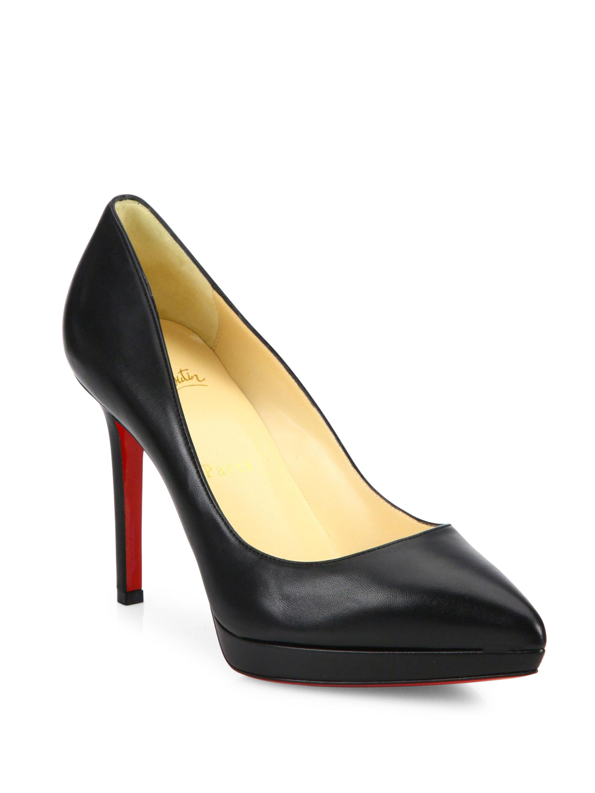louboutin pigalle black