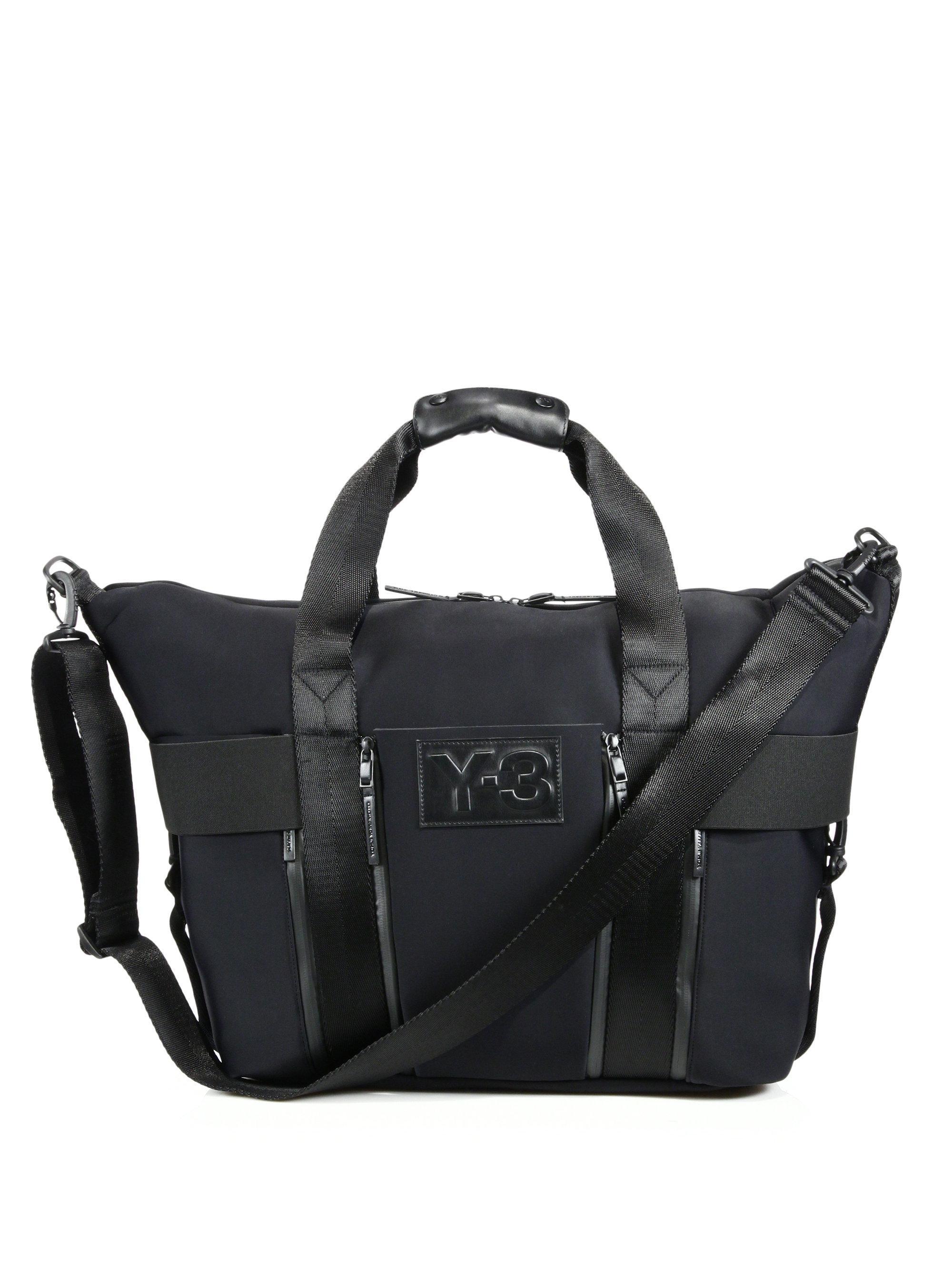 a79168fb5a Y-3 Qasa Gym Bag in Black for Men - Lyst