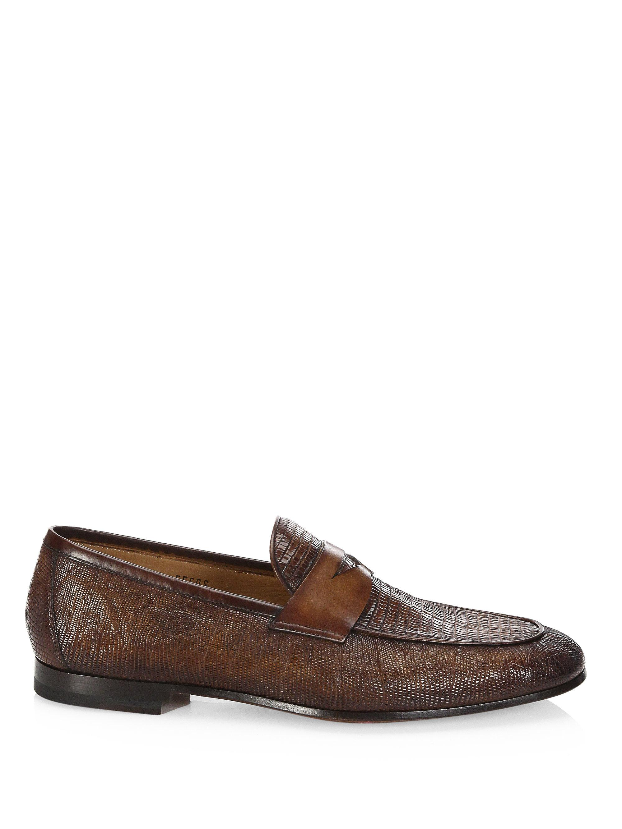 Saks Fifth AvenueCOLLECTION BY MAGNANNI Leather Double Monkstrap Loafers 4IgrS1Ki7