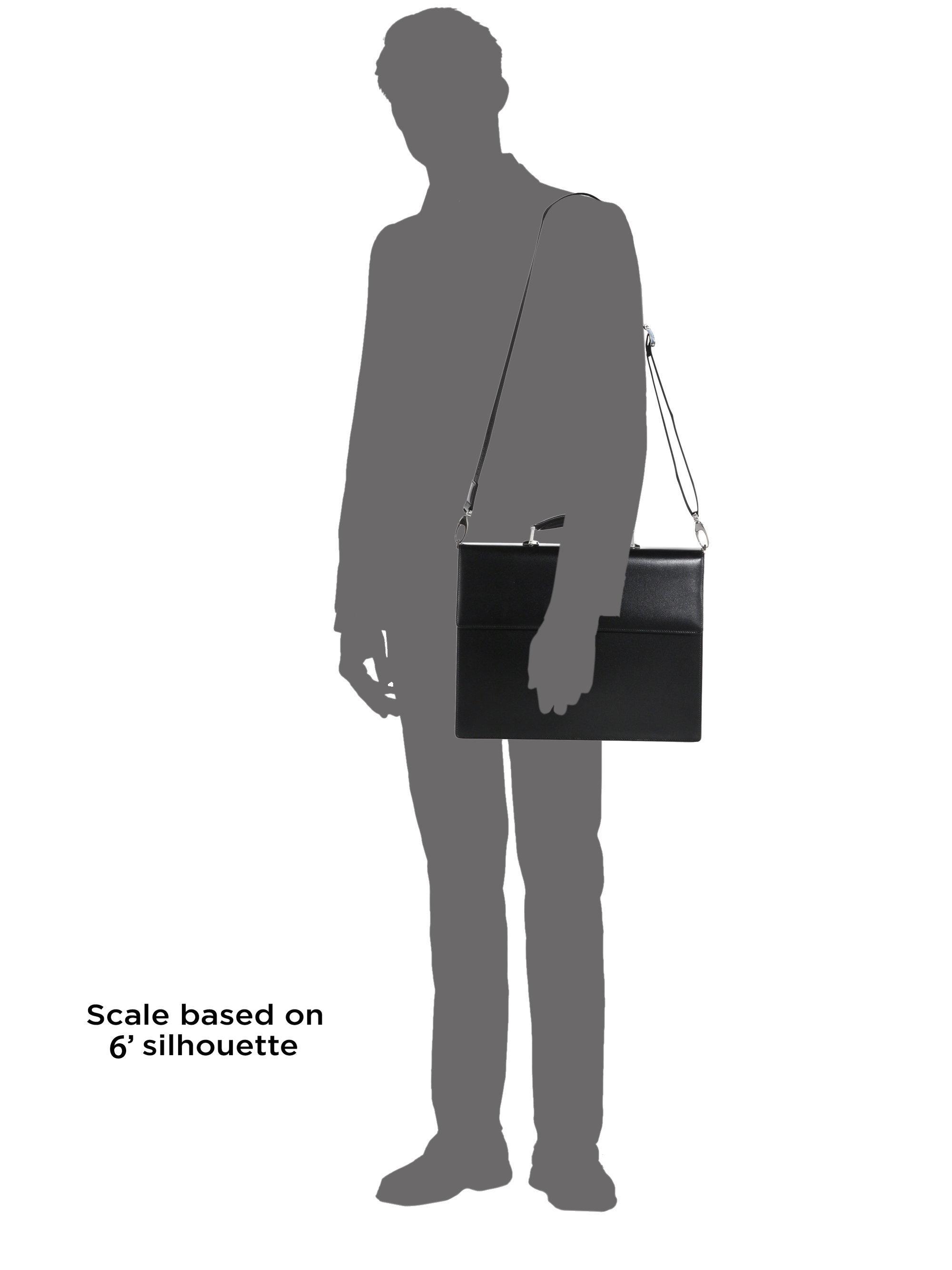 Montblanc Meisterstück Single Gusset Briefcase in Black for Men - Lyst 02f4c10140beb