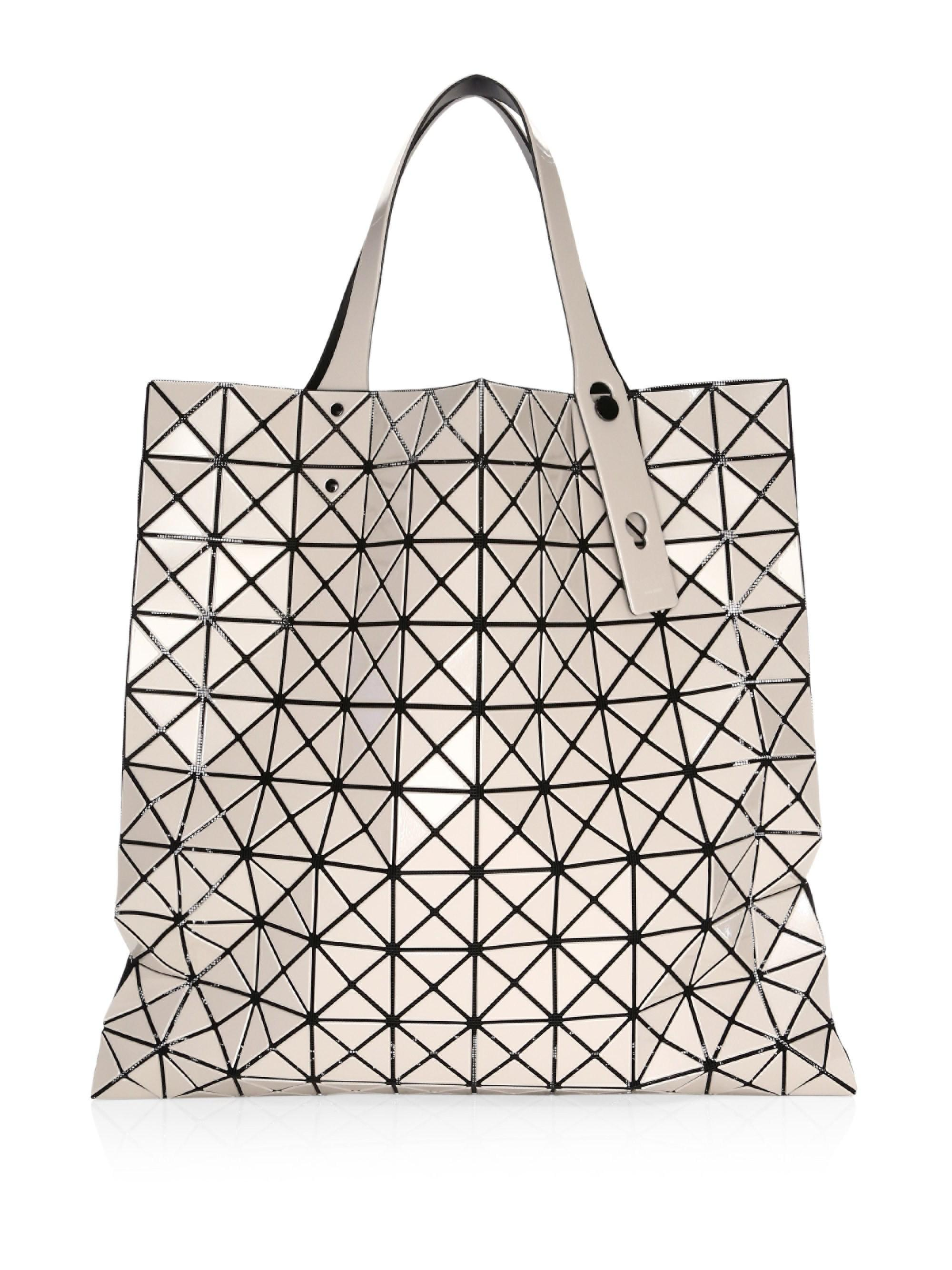 Lyst - Bao Bao Issey Miyake Prism Basic Tote in Natural c56b3247fe92b