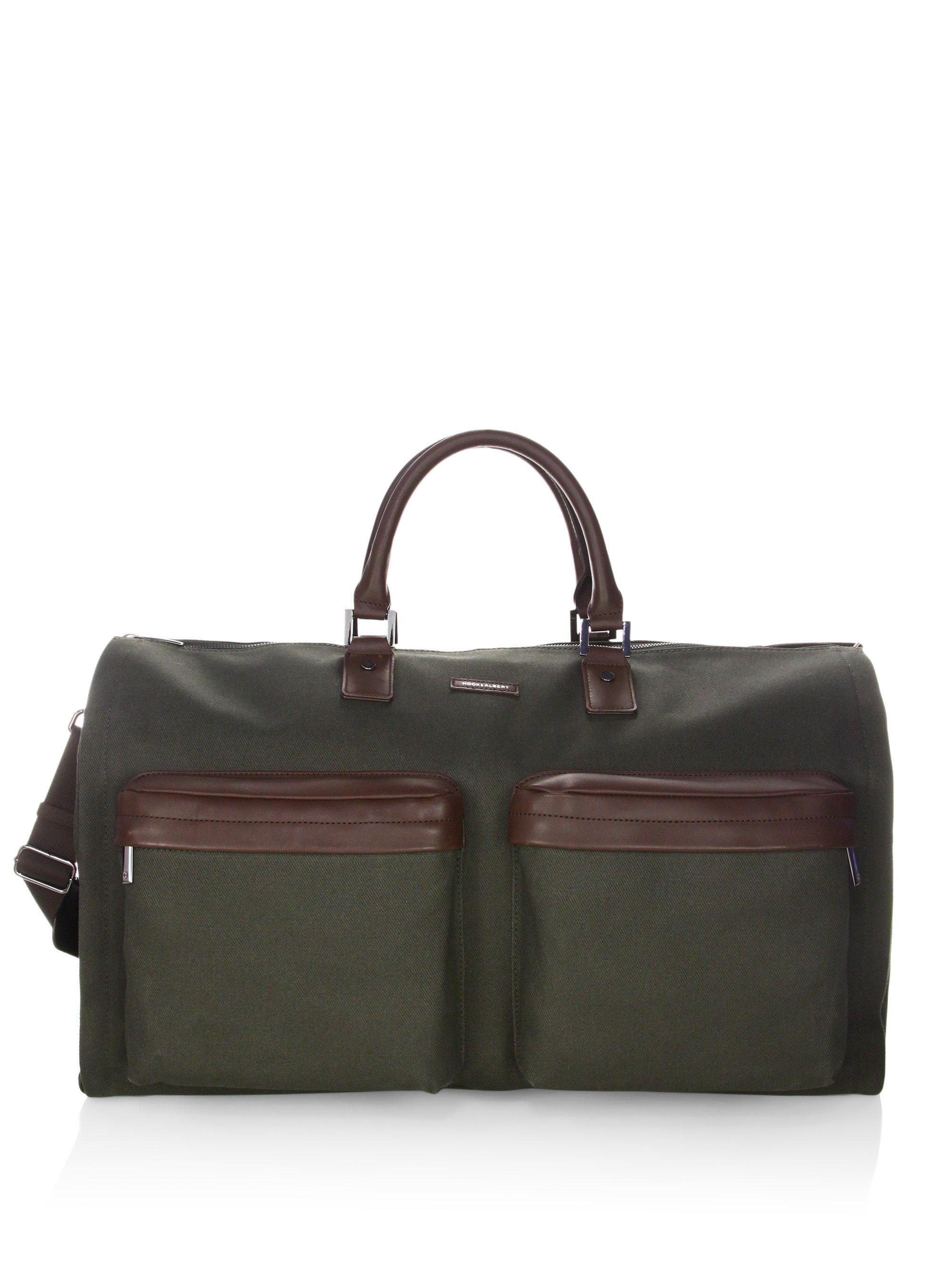 411cd9651c Lyst - Hook + Albert Gen 2 Twill Garment Weekender Bag in Green for Men