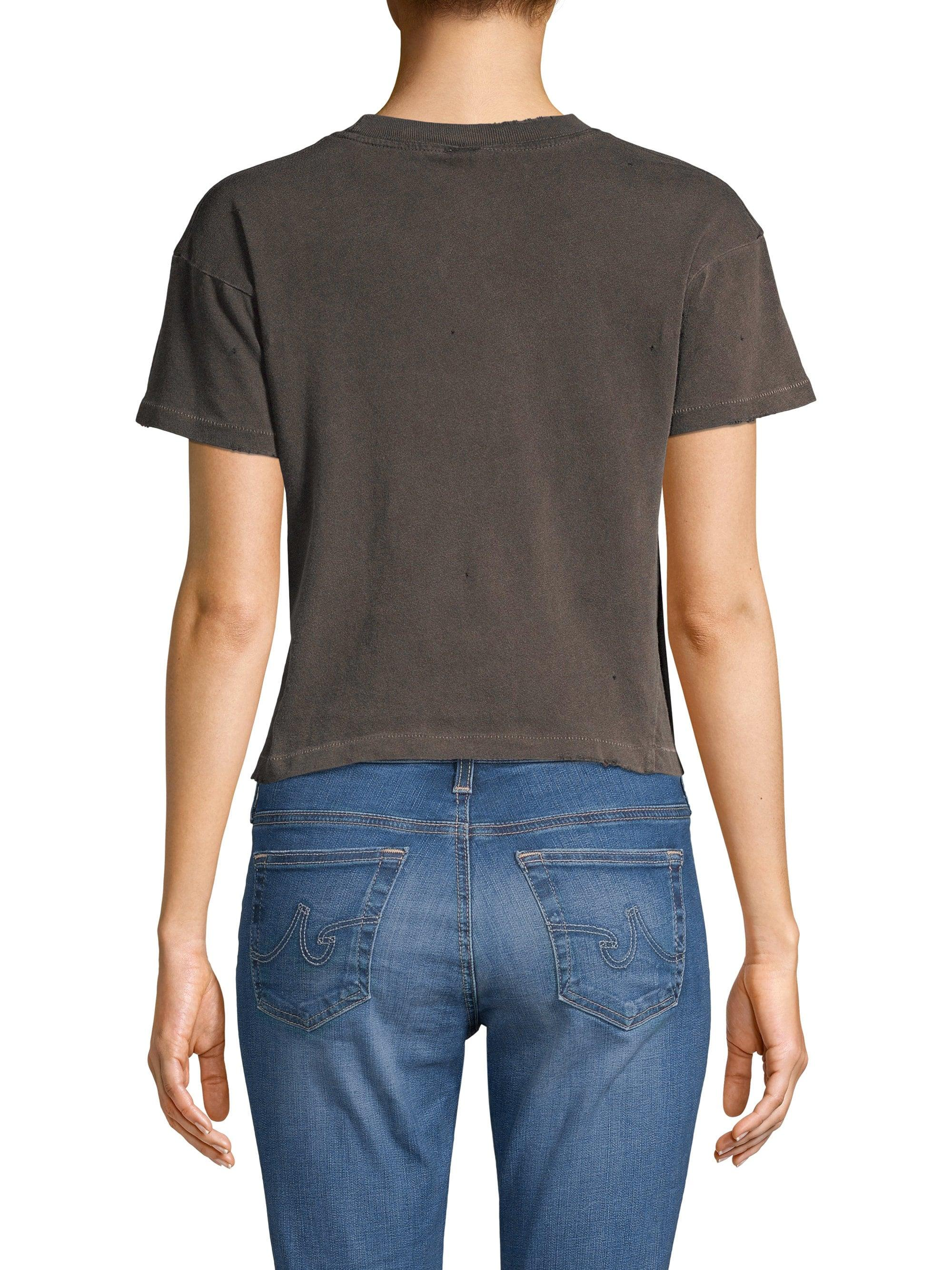 cf80daed5d307 Lyst - MadeWorn The Doors Cropped Tee