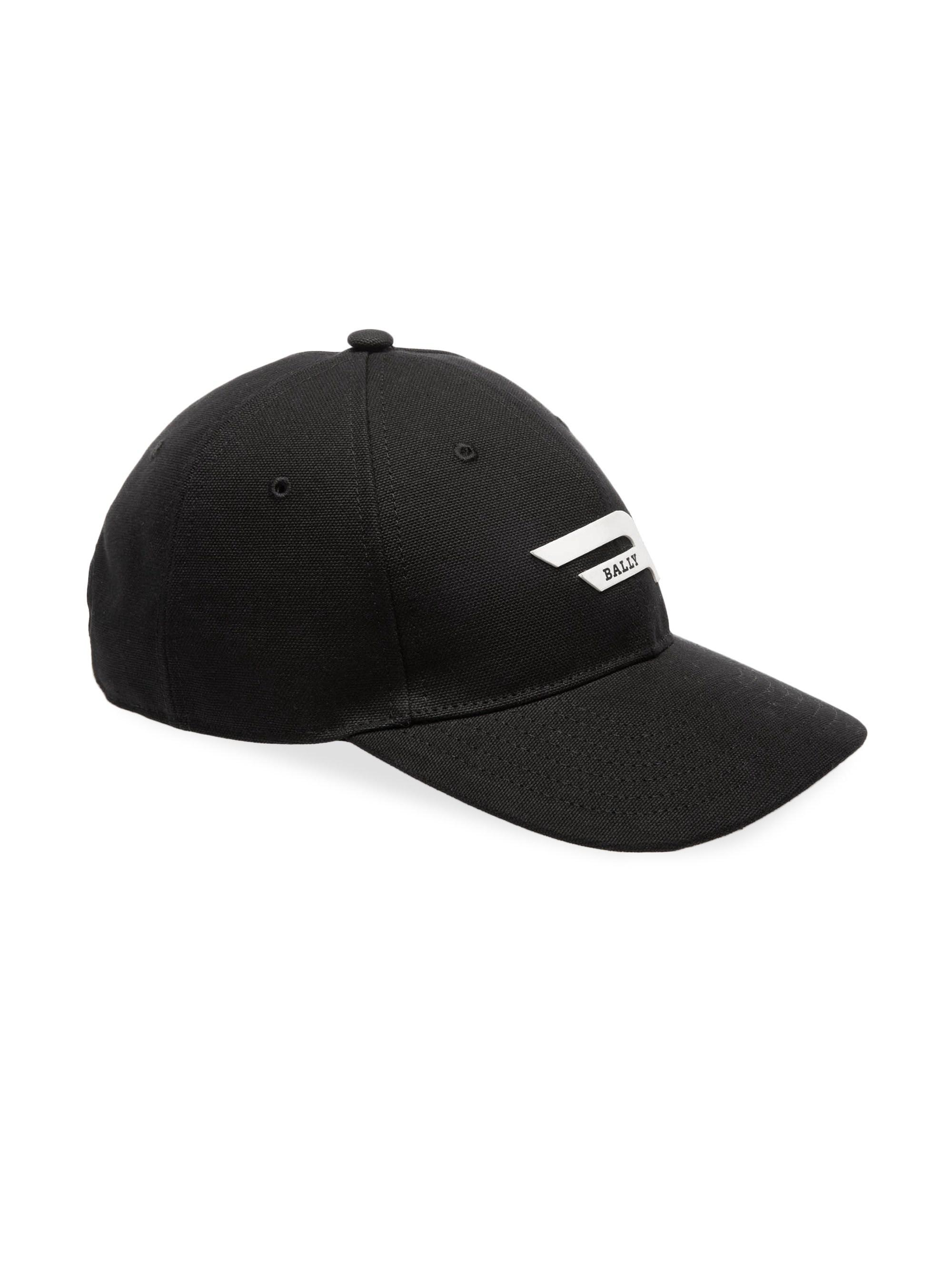 Bally Drill Competition Logo Baseball Cap in Black for Men - Lyst ca25fd3d2f37