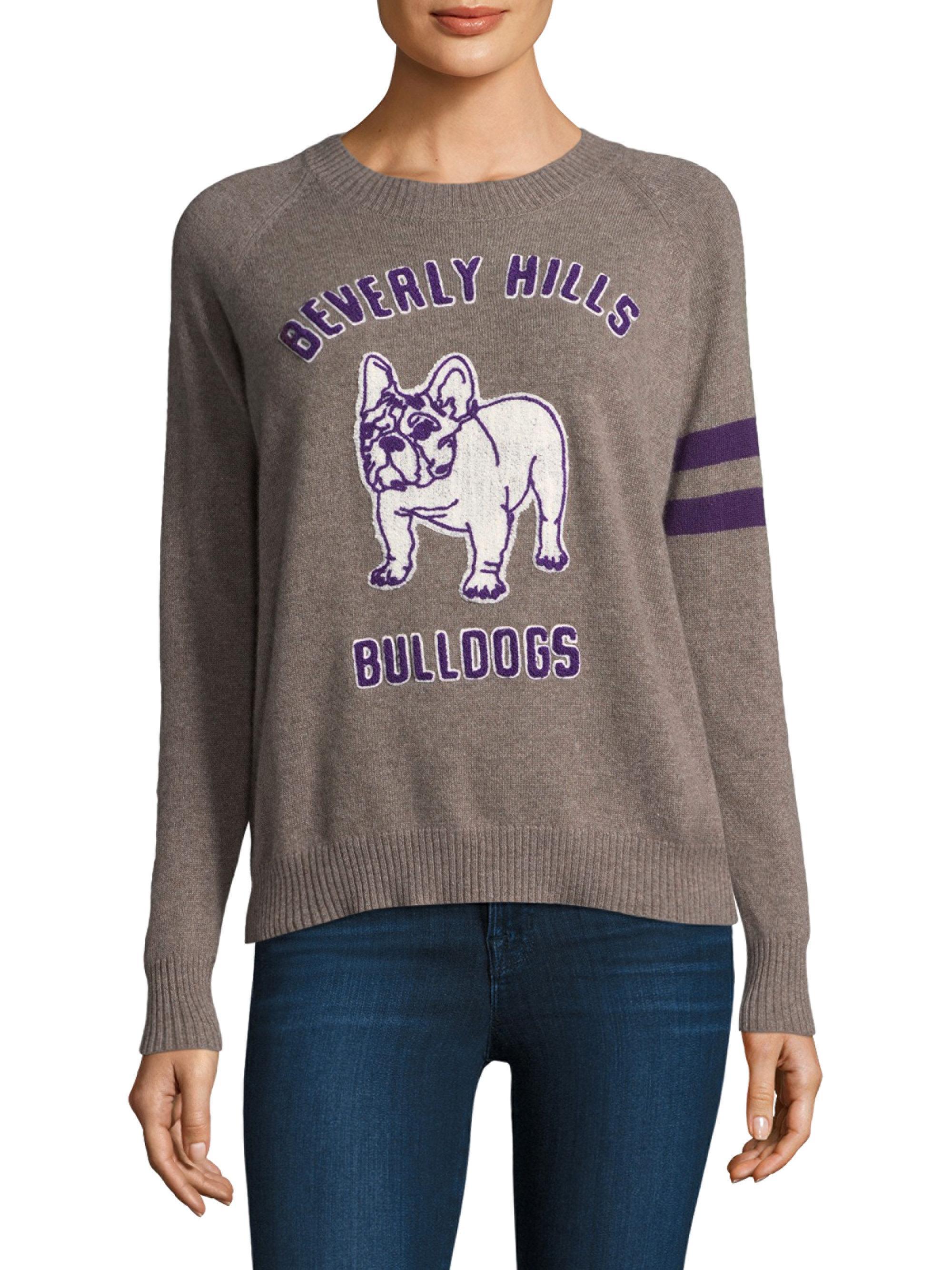 Lyst 27 Miles Malibu Bulldog Crewneck Sweater