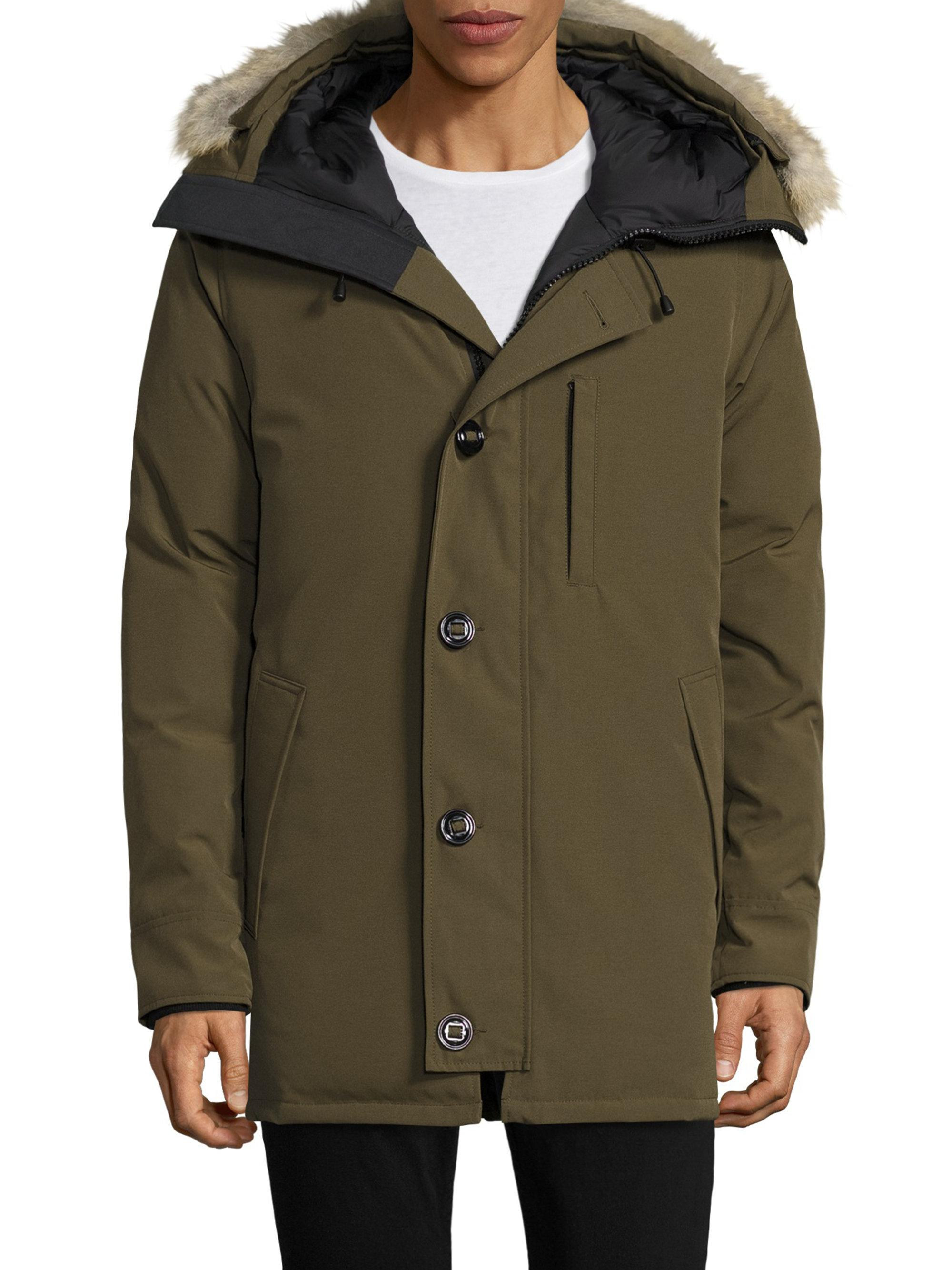 Canada Goose Chateau Anorak gris
