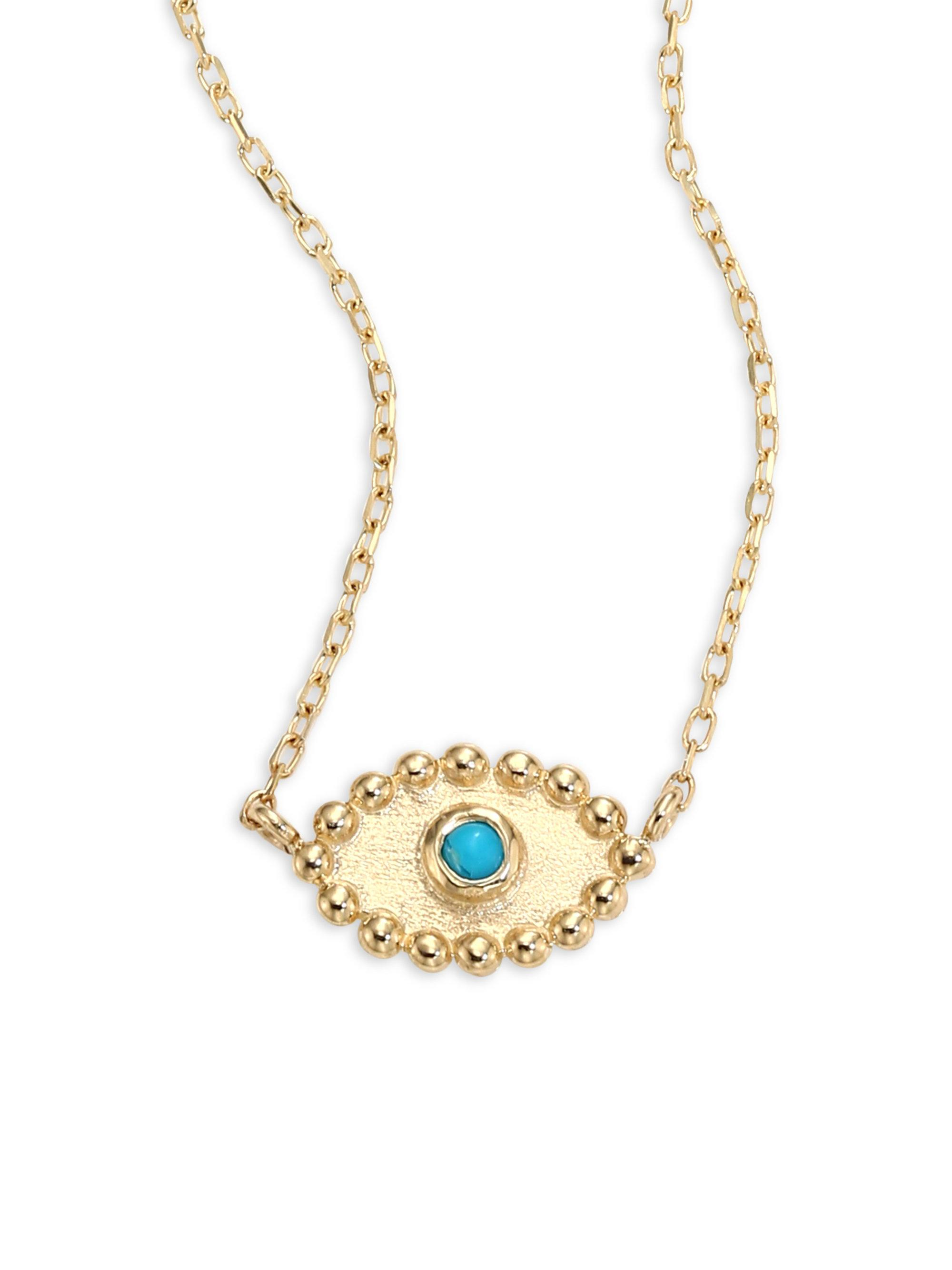 lou eye gold diamond ida in covet pendant james plated products nazar