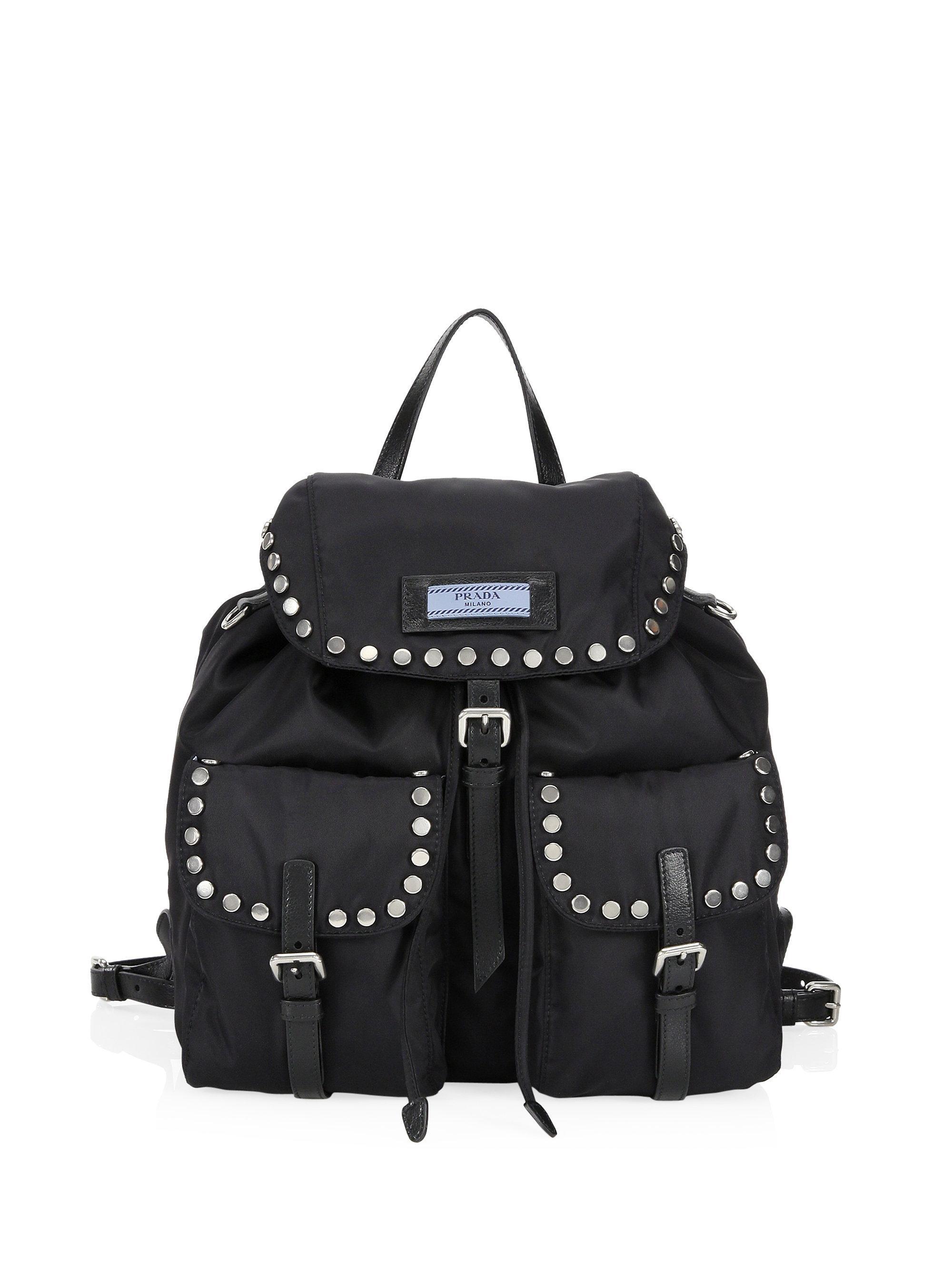eb81eaaeae ... new arrivals prada. womens black tessuto backpack f5057 59924