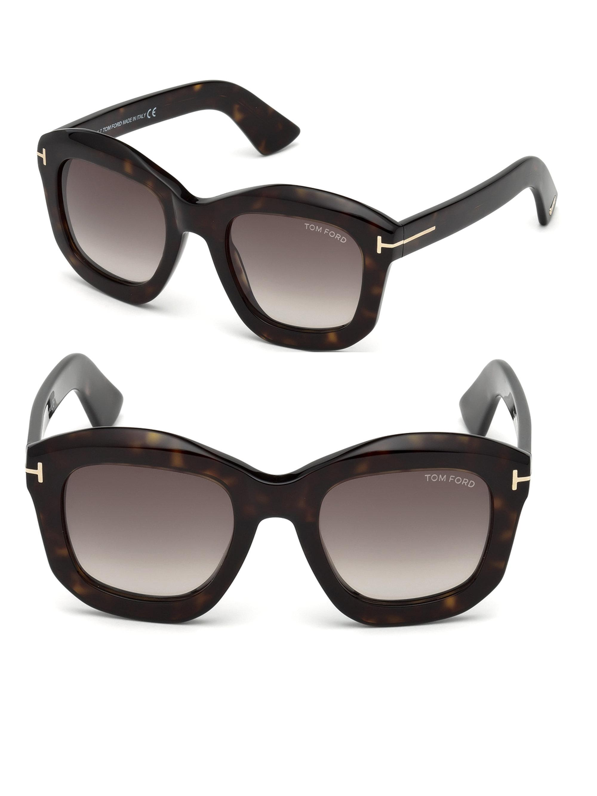 Julia square-frame sunglasses Tom Ford Eyewear pdpM7pq7Db