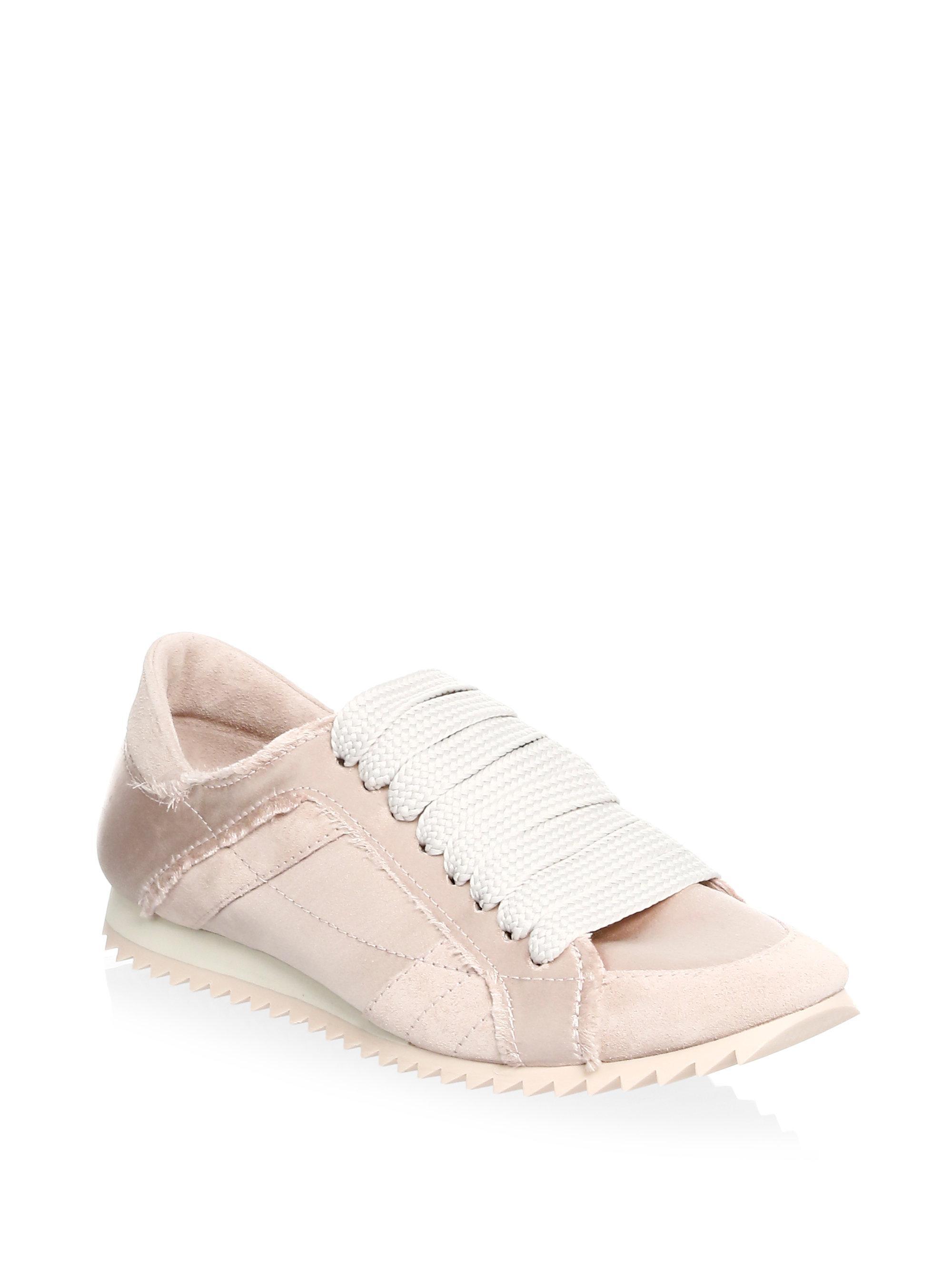 Pedro Garcia Cristina Satin Trainer Sneakers FhApFq19b