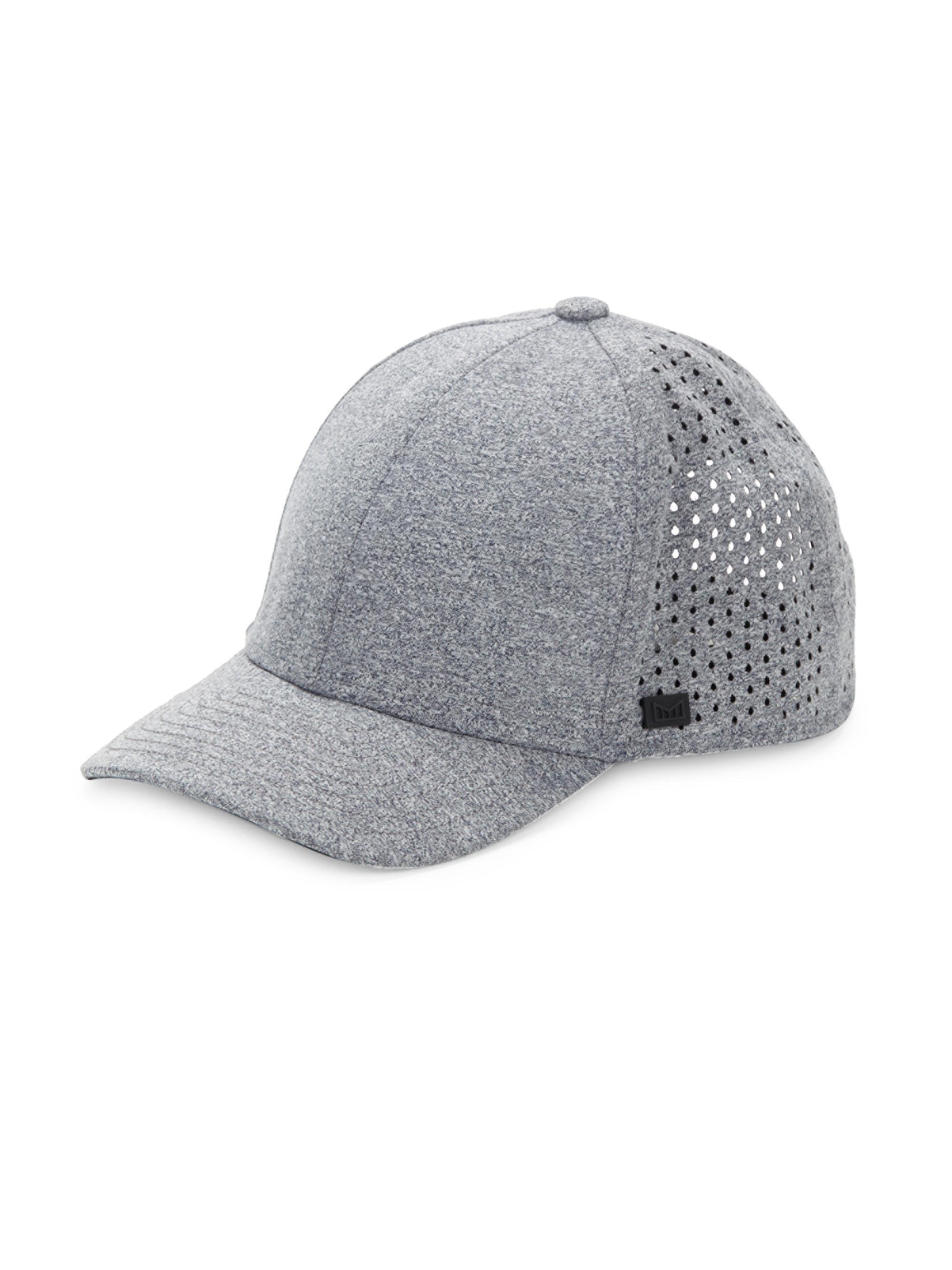 brand new b6b12 d8174 ... discount melin the a game baseball cap in gray for men lyst a56b0 48d5d