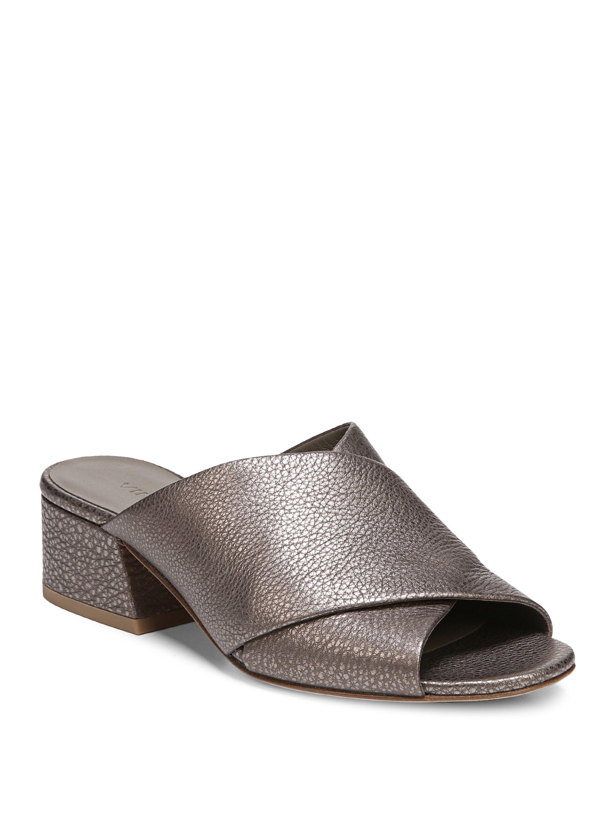 Vince Karsen Leather Sandals V9cHAbI5pG
