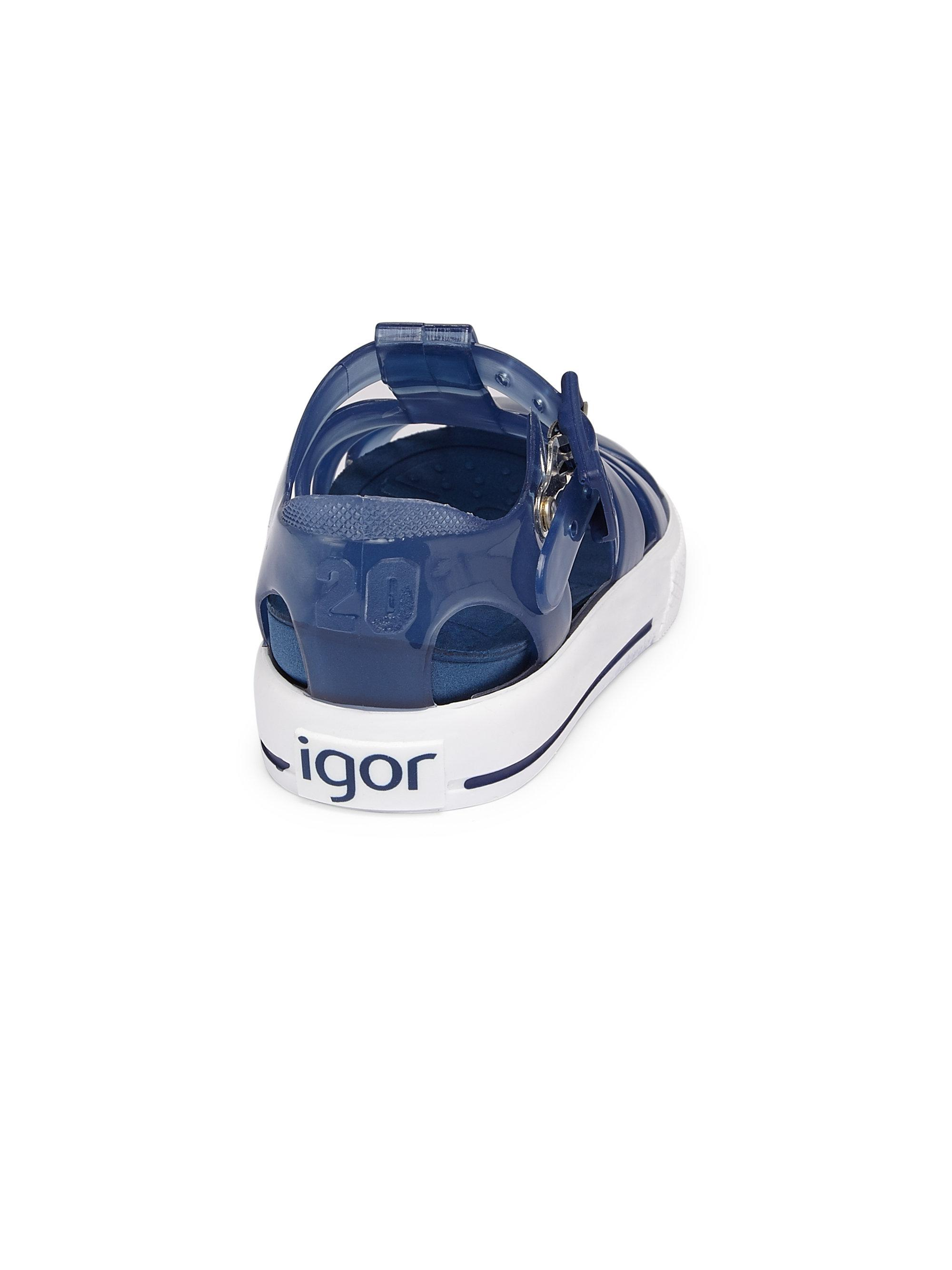 efa7481e1f23 Igor - Blue Kid s Tennis Fisherman Sandals - Lyst. View fullscreen
