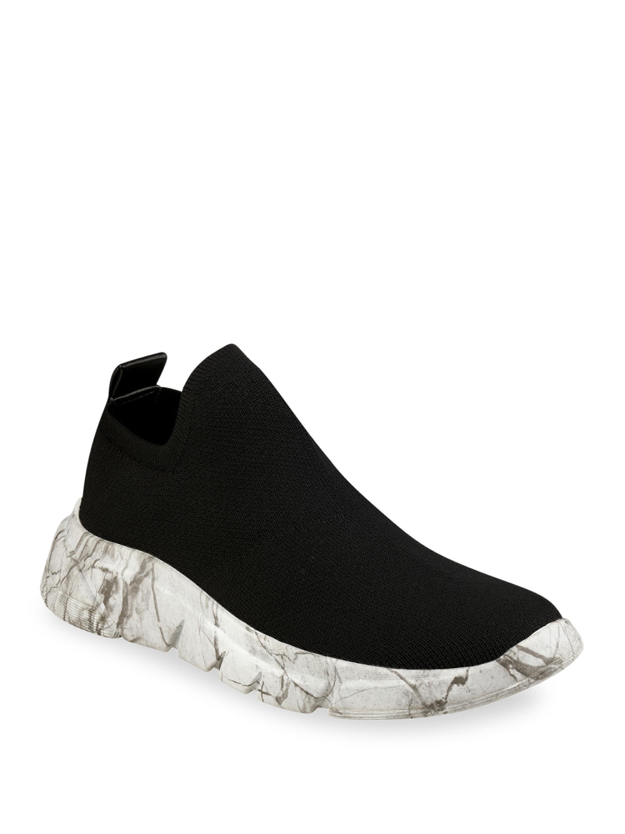 KENDALL + KYLIE CALEB - Slip-ons - black/white