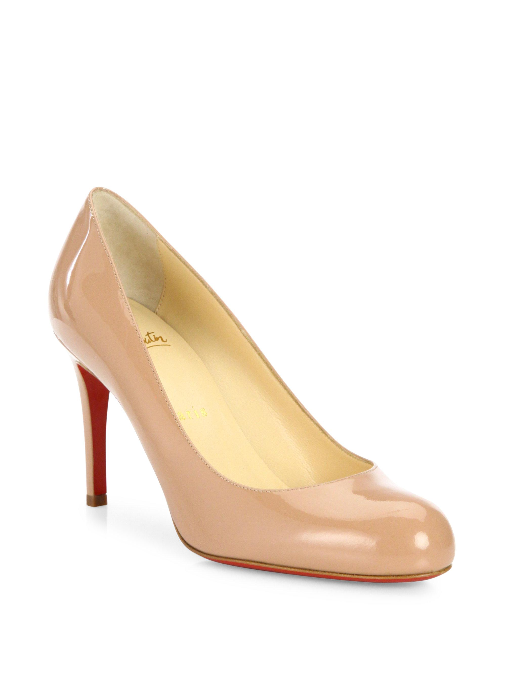 christian louboutin new simple pump 85mm patent leather platform rh takeoutburger com
