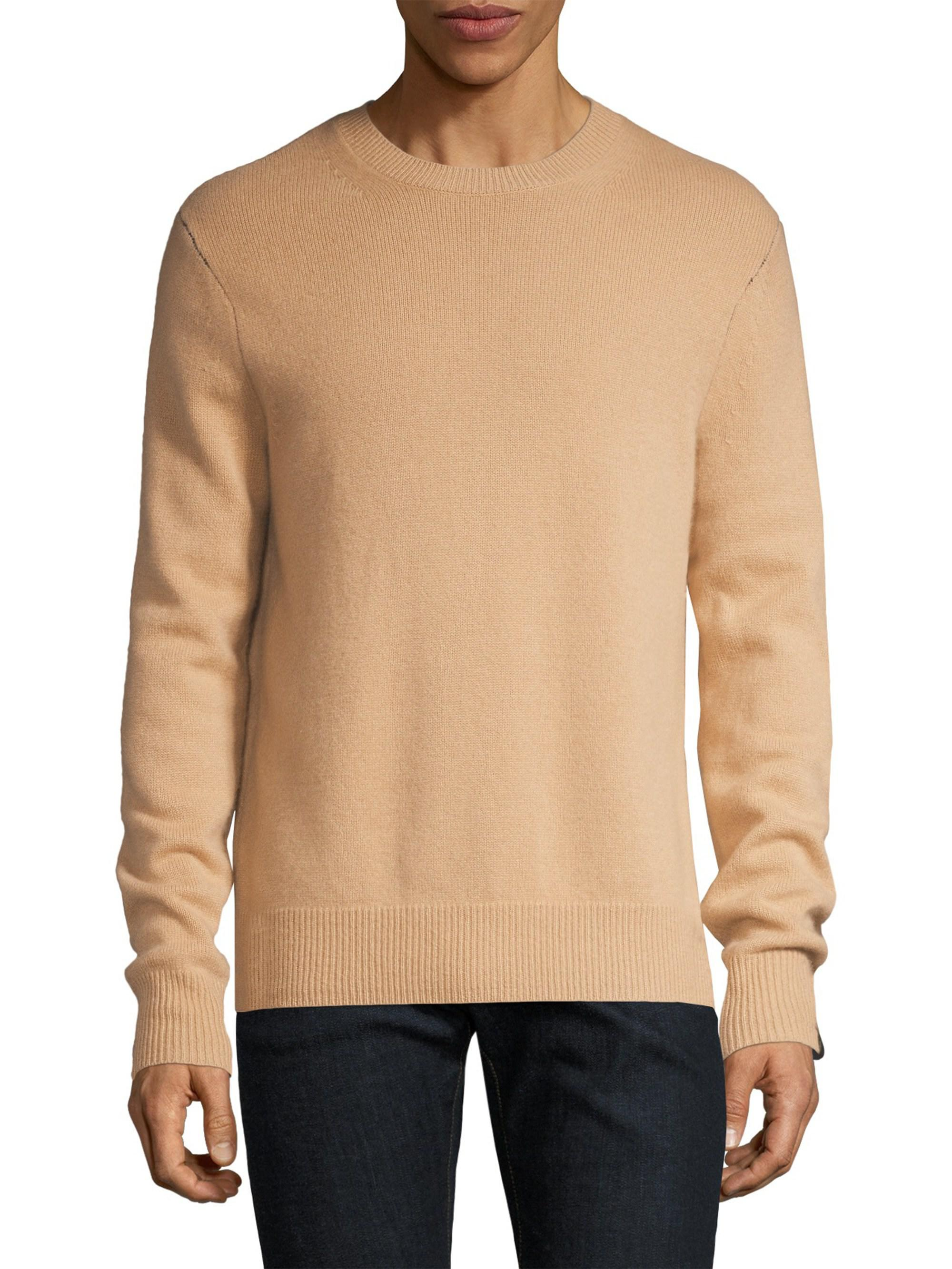 Rag Mens Natural Haldon Sweater Cashmere Amp Bone Rzwapr