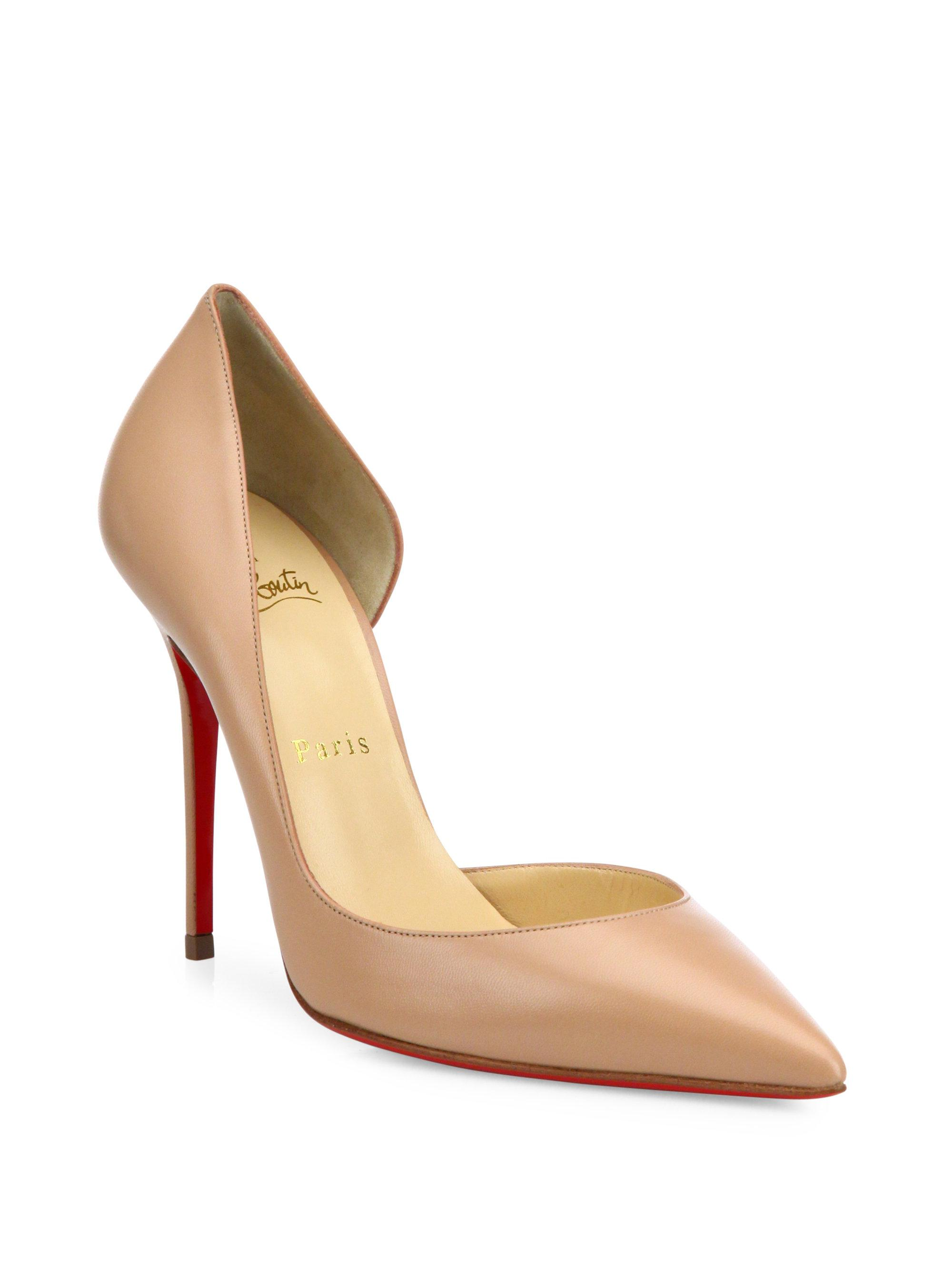 71c54b7cc3 Gallery. Previously sold at: Saks Fifth Avenue · Women's Christian  Louboutin Iriza ...