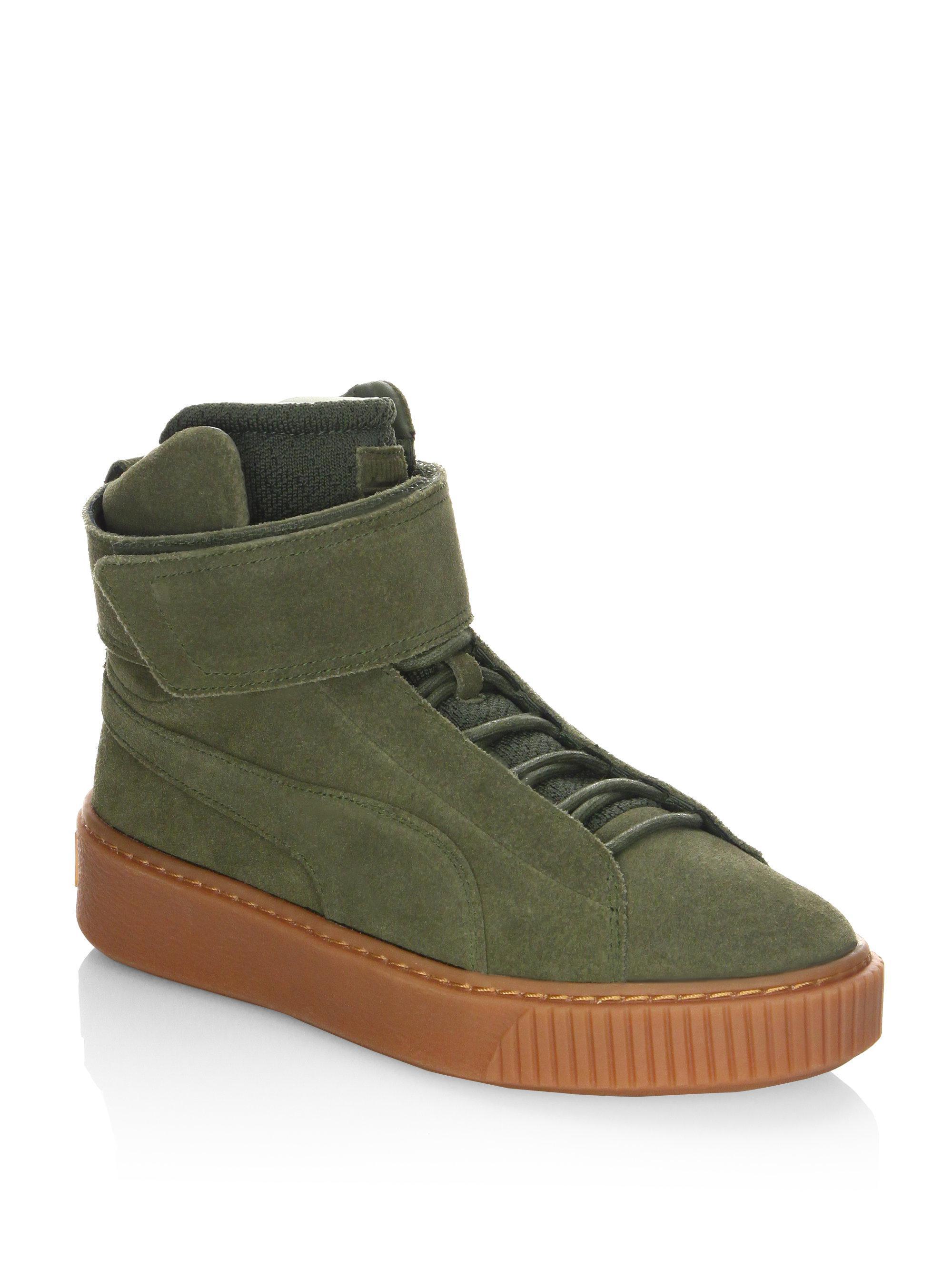 Puma Eskiva Hi Deep Summer Women US 7 Black Sneakers bGBE6ra6