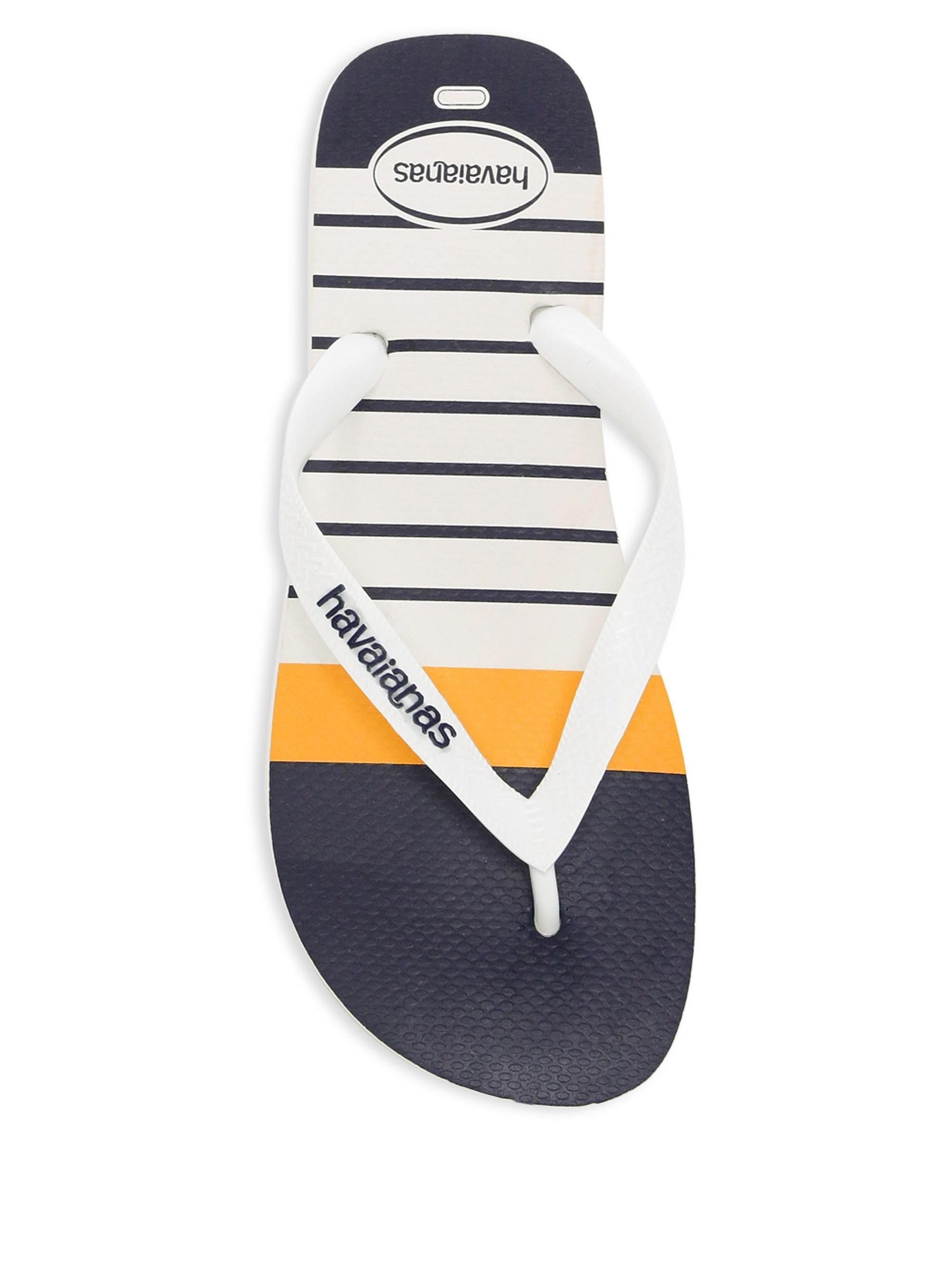026e3f2656e Lyst - Havaianas Men s Nautical Thong Flip-flops - White - Size 45 ...