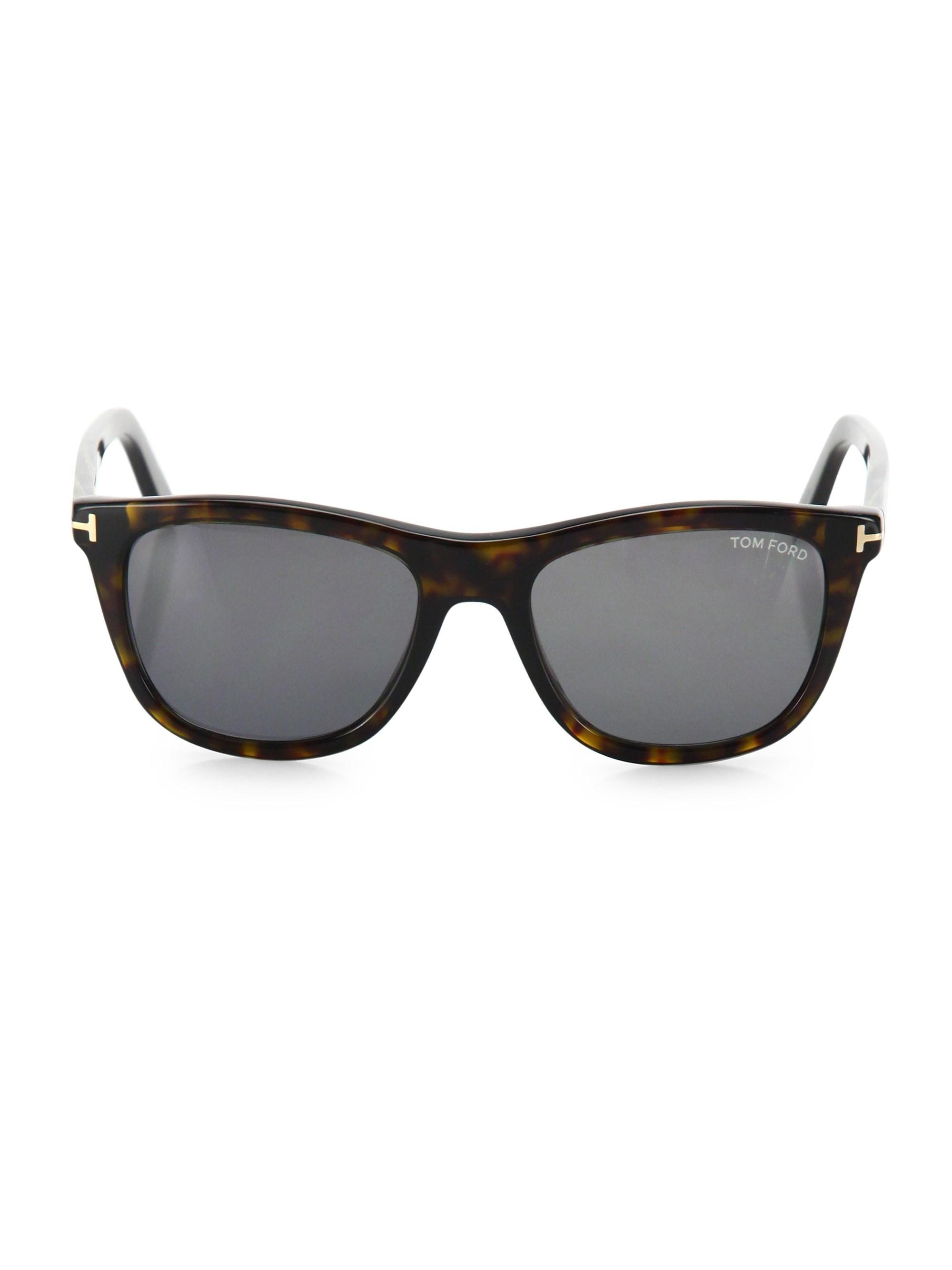 9dddd1632cea3 Tom Ford - Black Andrew 54mm Square Sunglasses for Men - Lyst. View  fullscreen