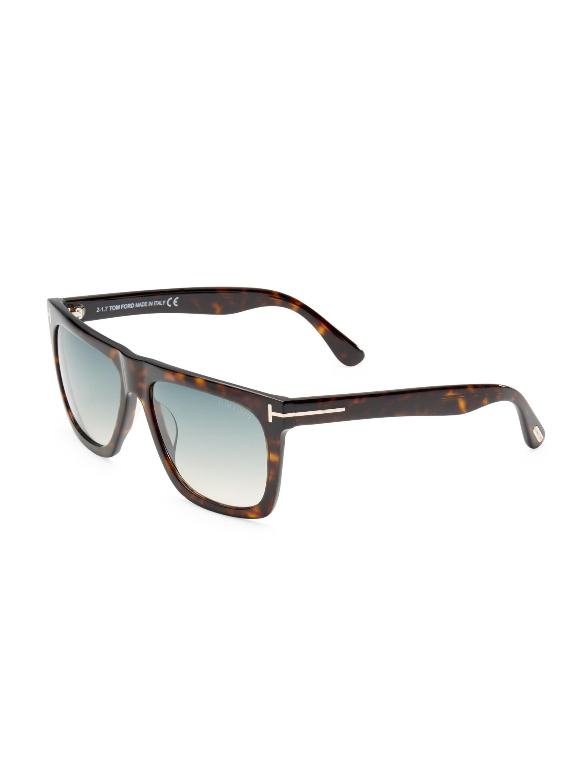 6ca2647ba7 Lyst - Tom Ford Morgan 57mm Soft Square Sunglasses for Men