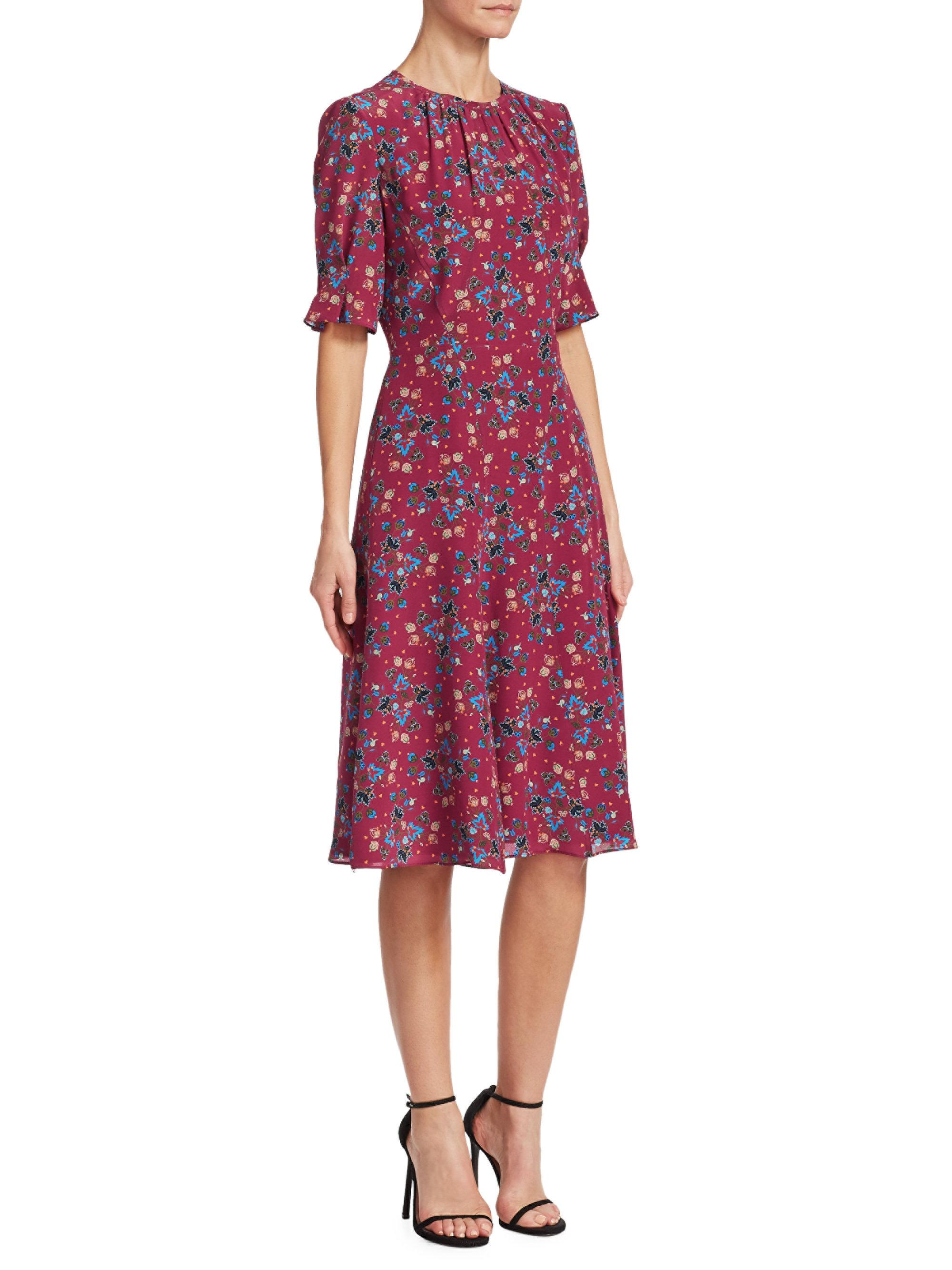 Jae floral silk dress Altuzarra