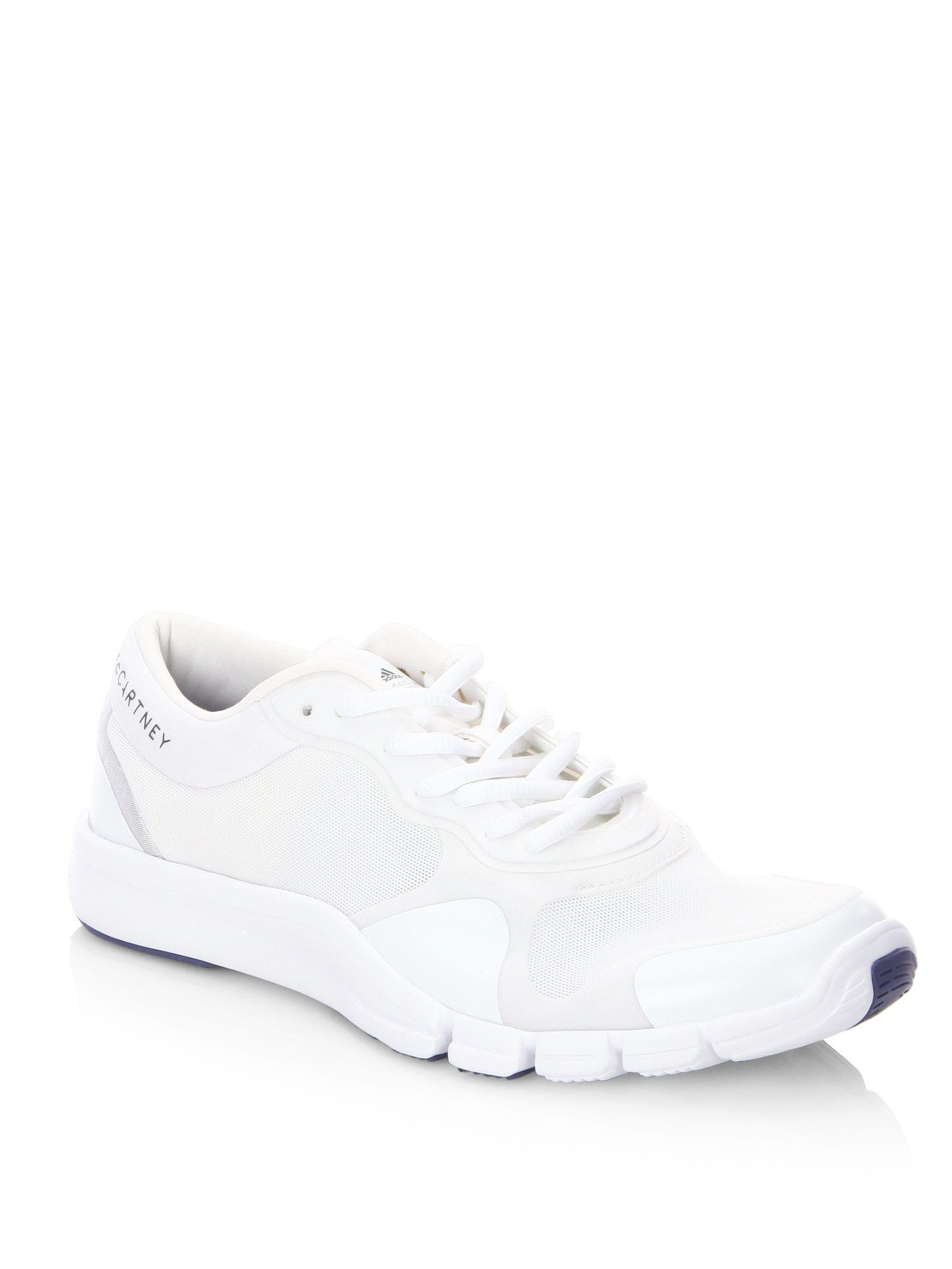 86a69e60118a adidas By Stella McCartney Adipure Trainer Sneakers in White - Save ...