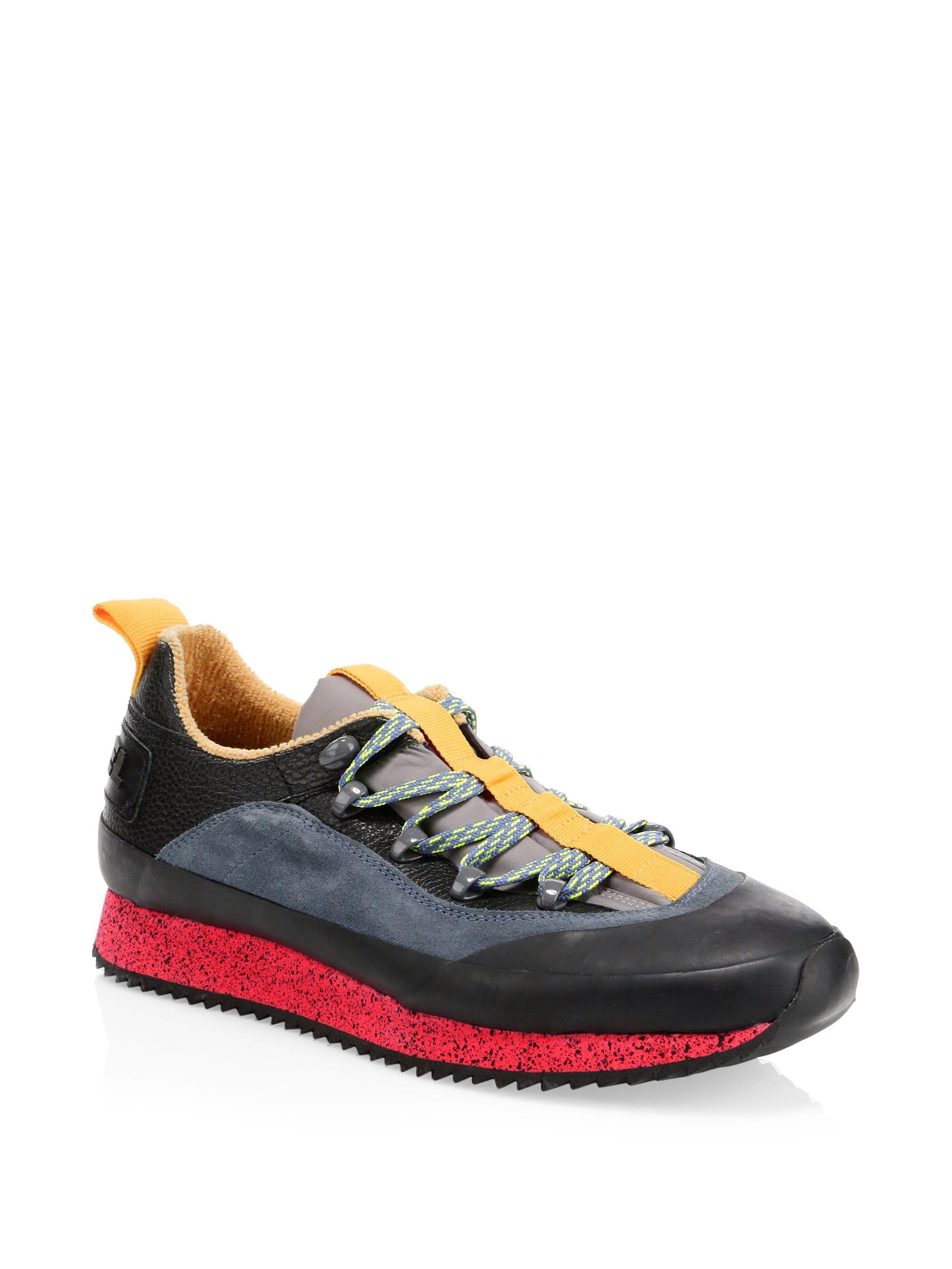 c798ba2c241 DIESEL H-tribute Hike Lc Sneaker in Black for Men - Lyst