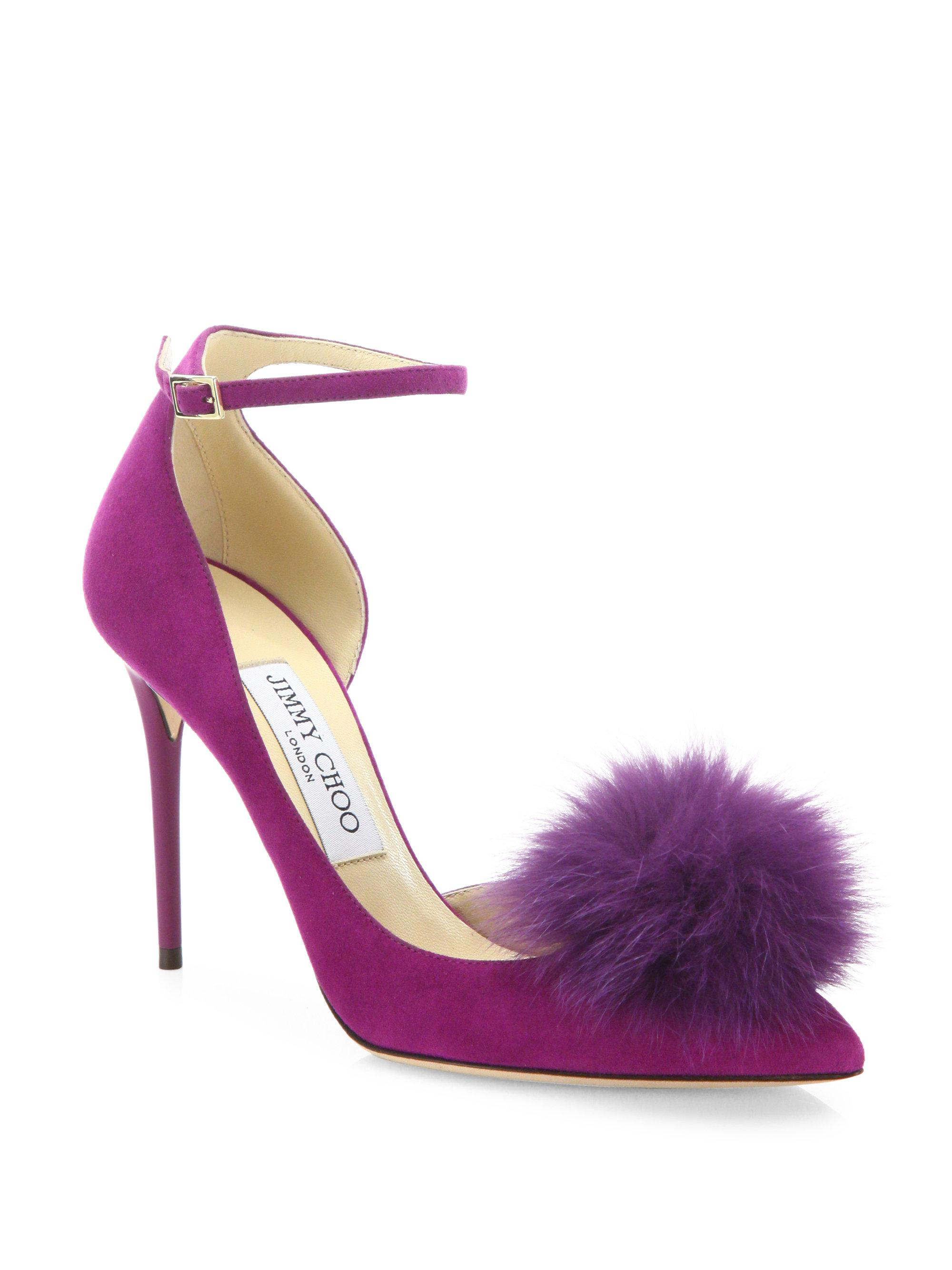 Vanessa pumps - Pink & Purple Jimmy Choo London 8sEElR