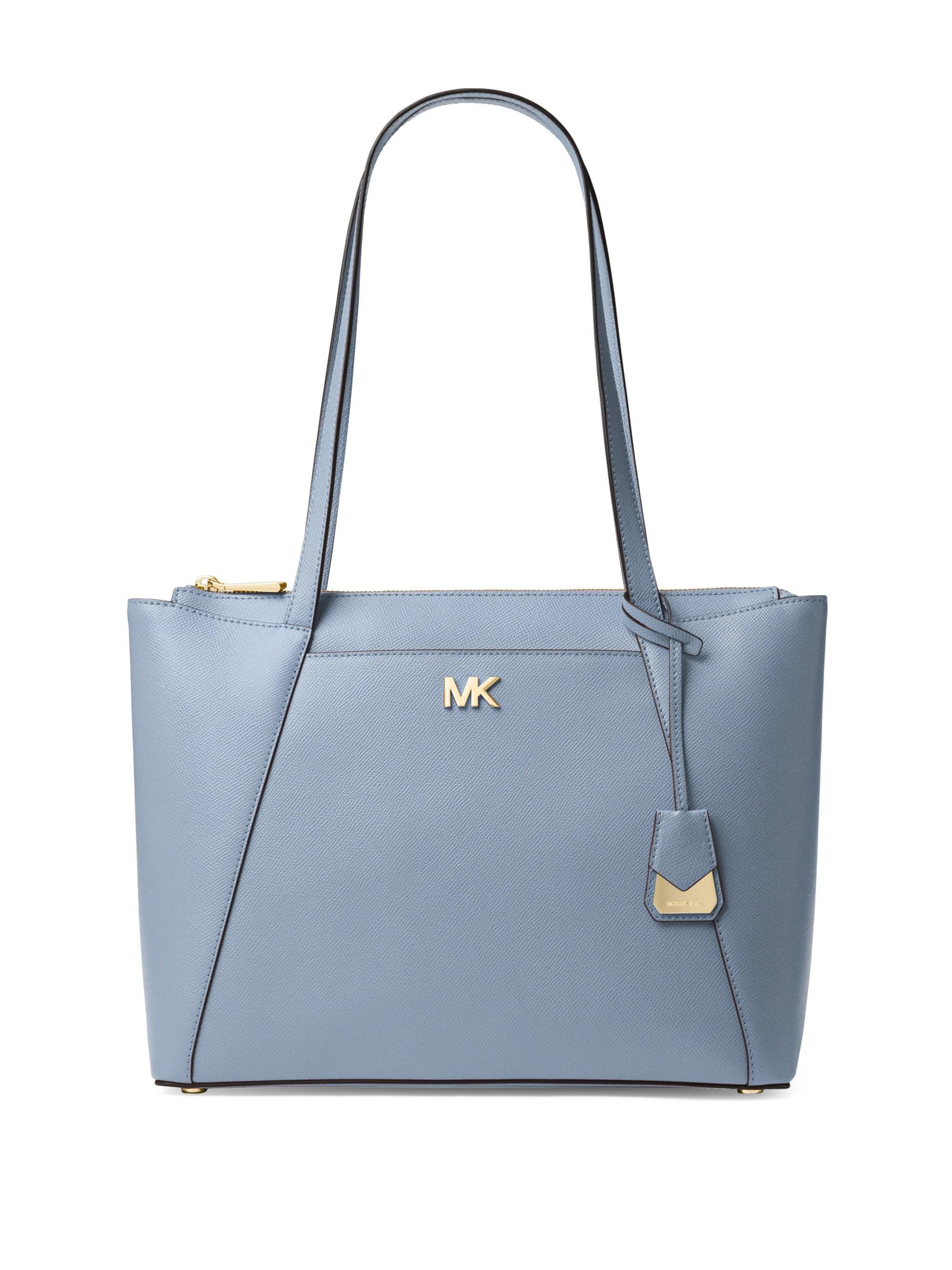 9ad071bfc23a34 Lyst - MICHAEL Michael Kors Maddie Medium Crossgrain Leather Tote in ...