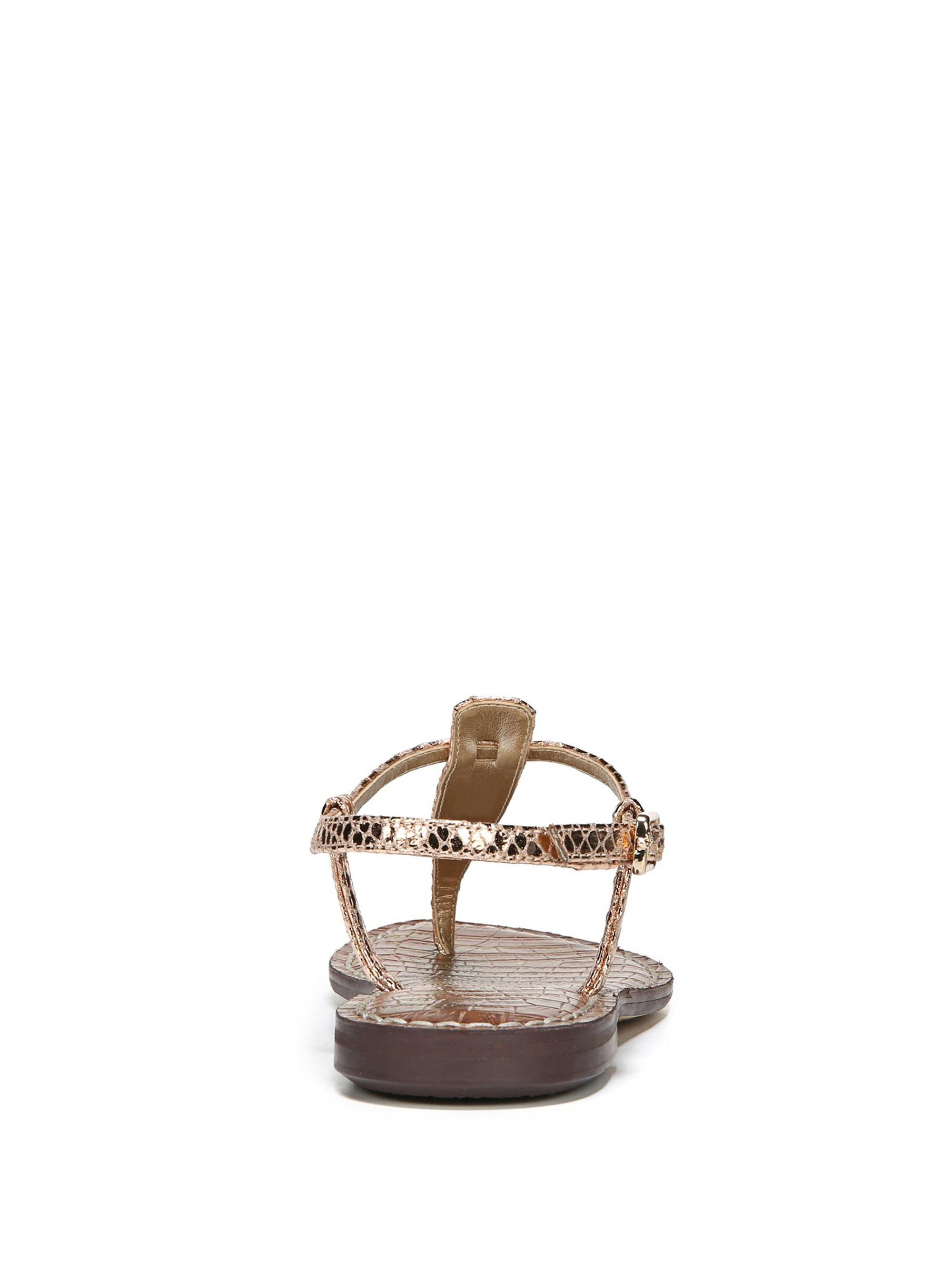 bb162f52e519 Gallery. Previously sold at  Saks Fifth Avenue · Women s Gold Sandals  Women s Sam Edelman Gigi Women s Leather ...