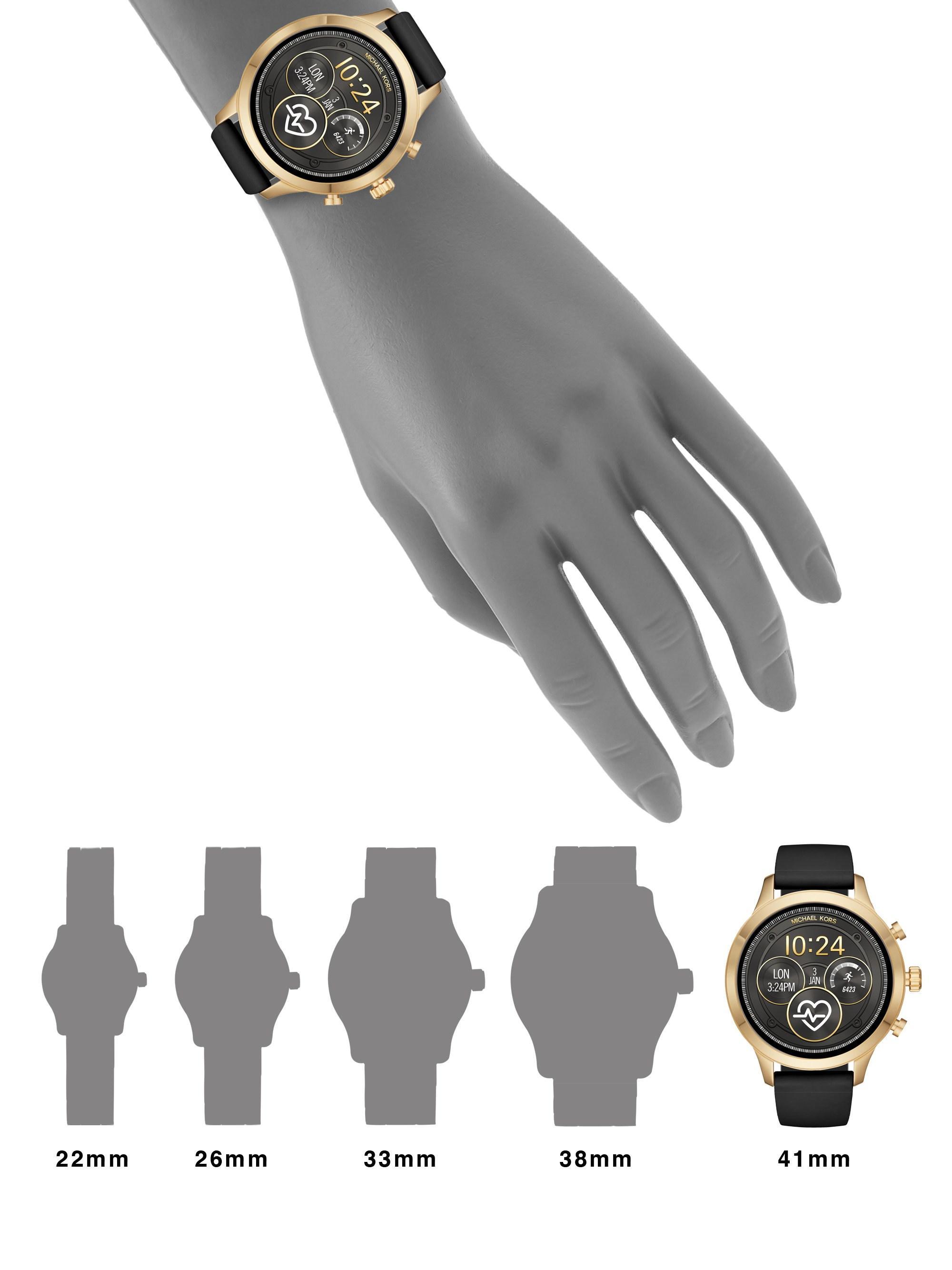 fbe397c19d32 Michael Kors - Multicolor Runway Access Touchscreen Smart Watch - Lyst.  View fullscreen