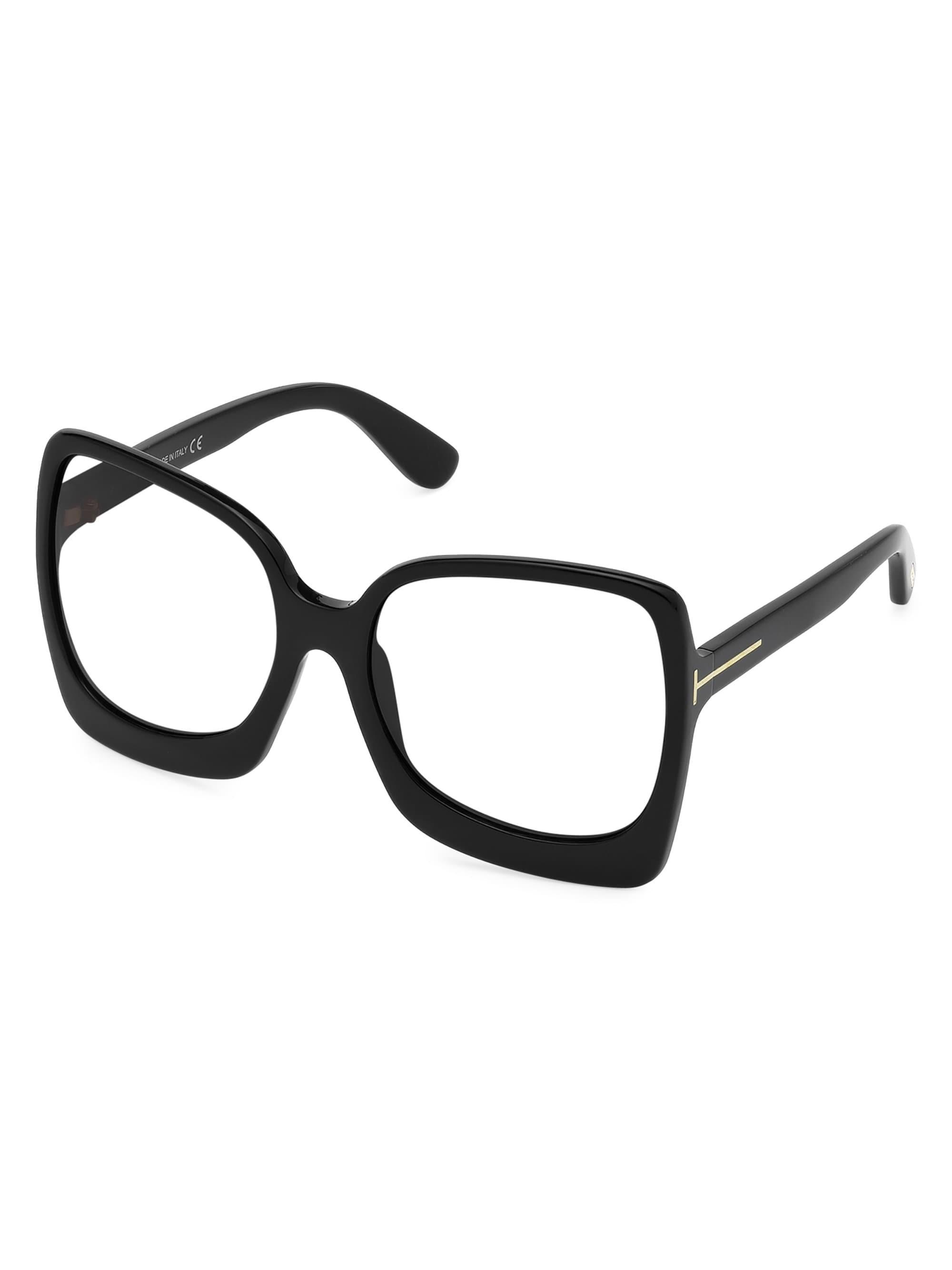 98cdba6aa8 Tom Ford Women s Emmanuella Gigi 60mm Glasses - Black in Black - Lyst