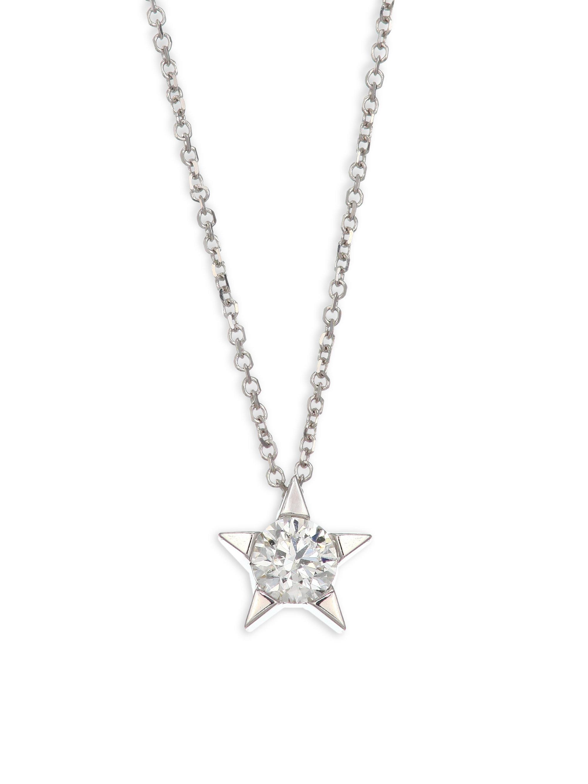 Lyst hearts on fire illa star diamond solitaire pendant necklace hearts on fire womens illa star diamond solitaire pendant necklace aloadofball Image collections