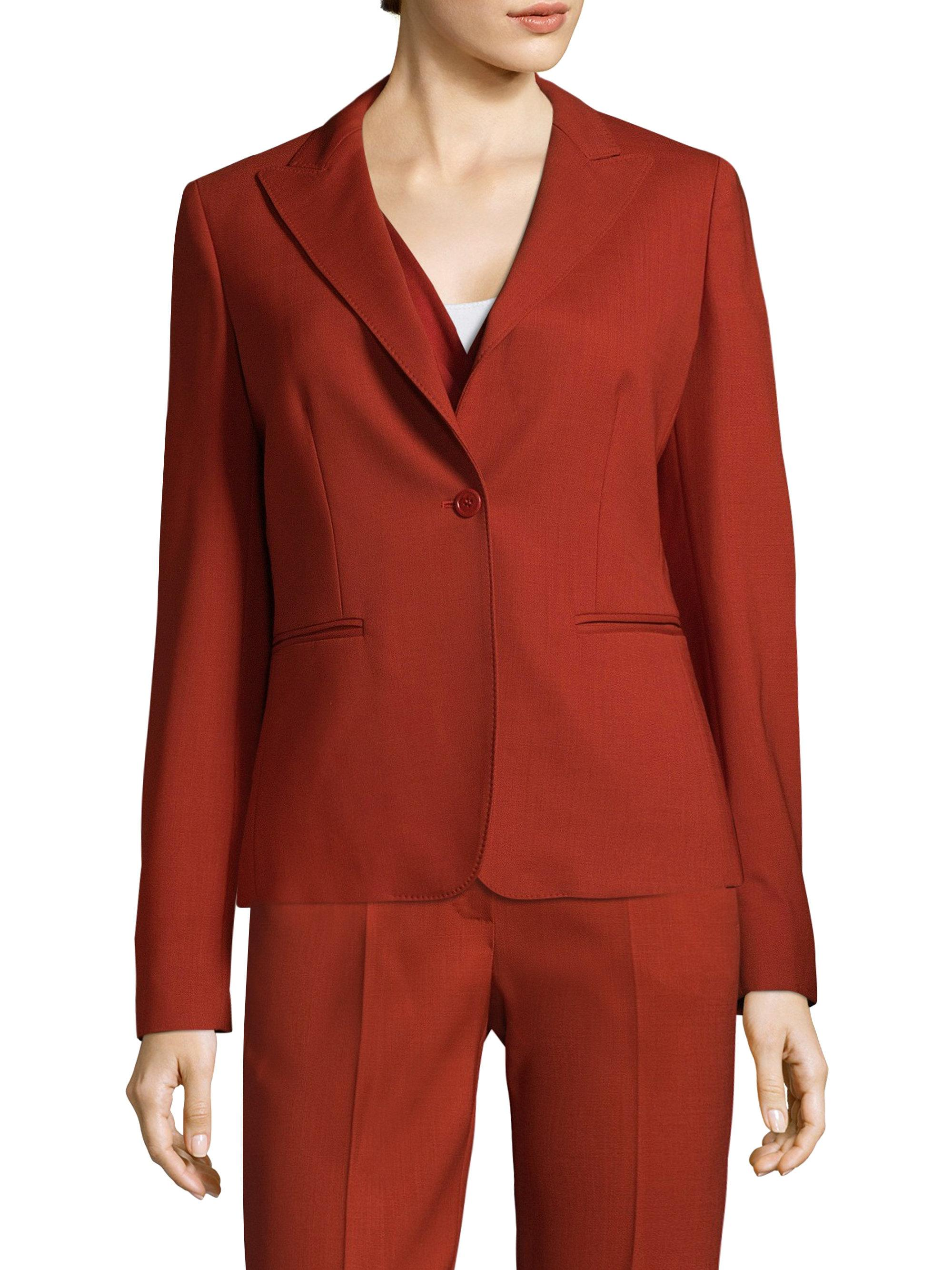 Cheap Sale Purchase MaxMara Notch-Lapel Wool Jacket Shopping Online Sale Online Buy Cheap Recommend qTSJsSjoQi
