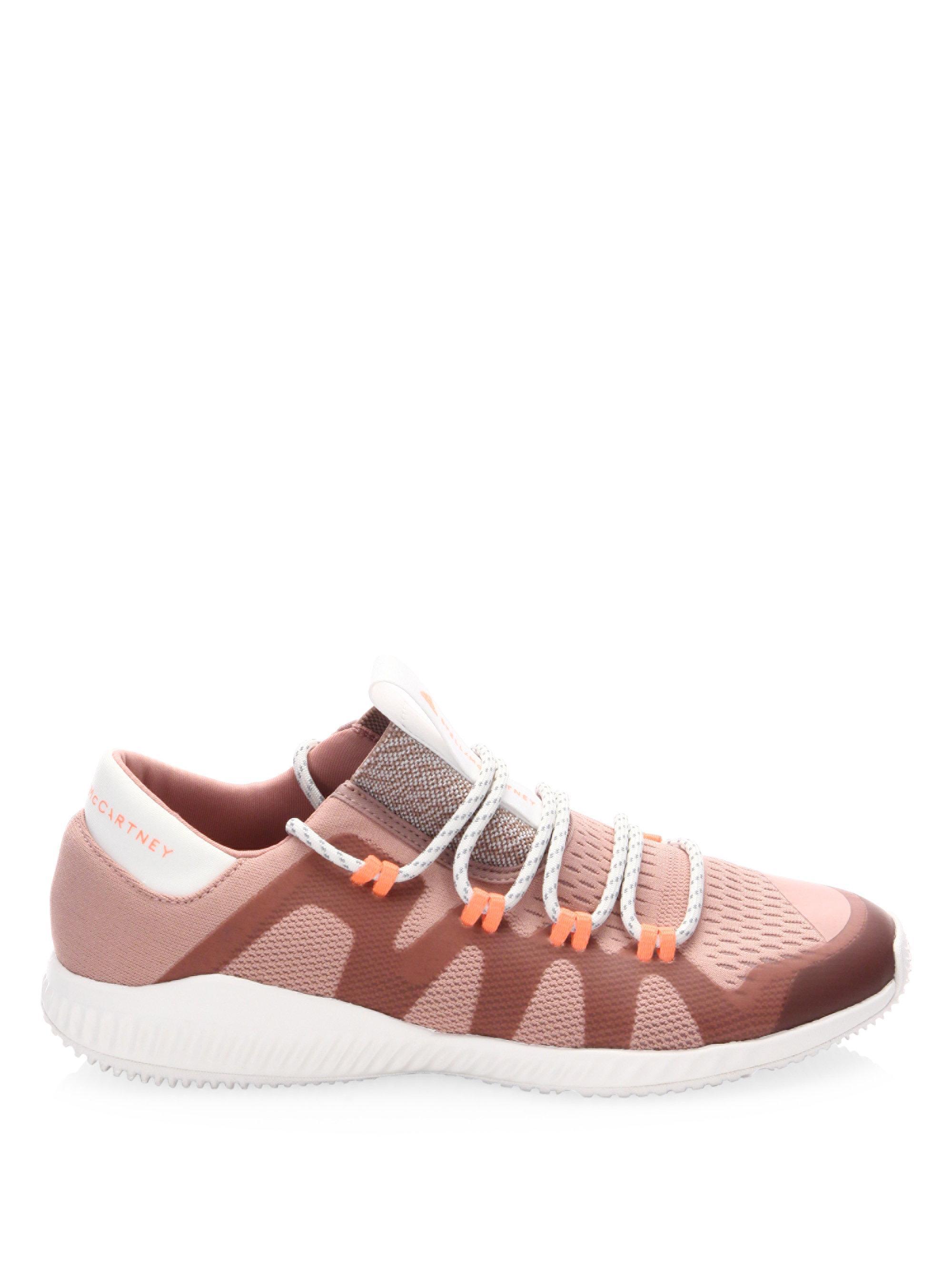 Lyst adidas da stella mccartney crazy train (scarpe rosa