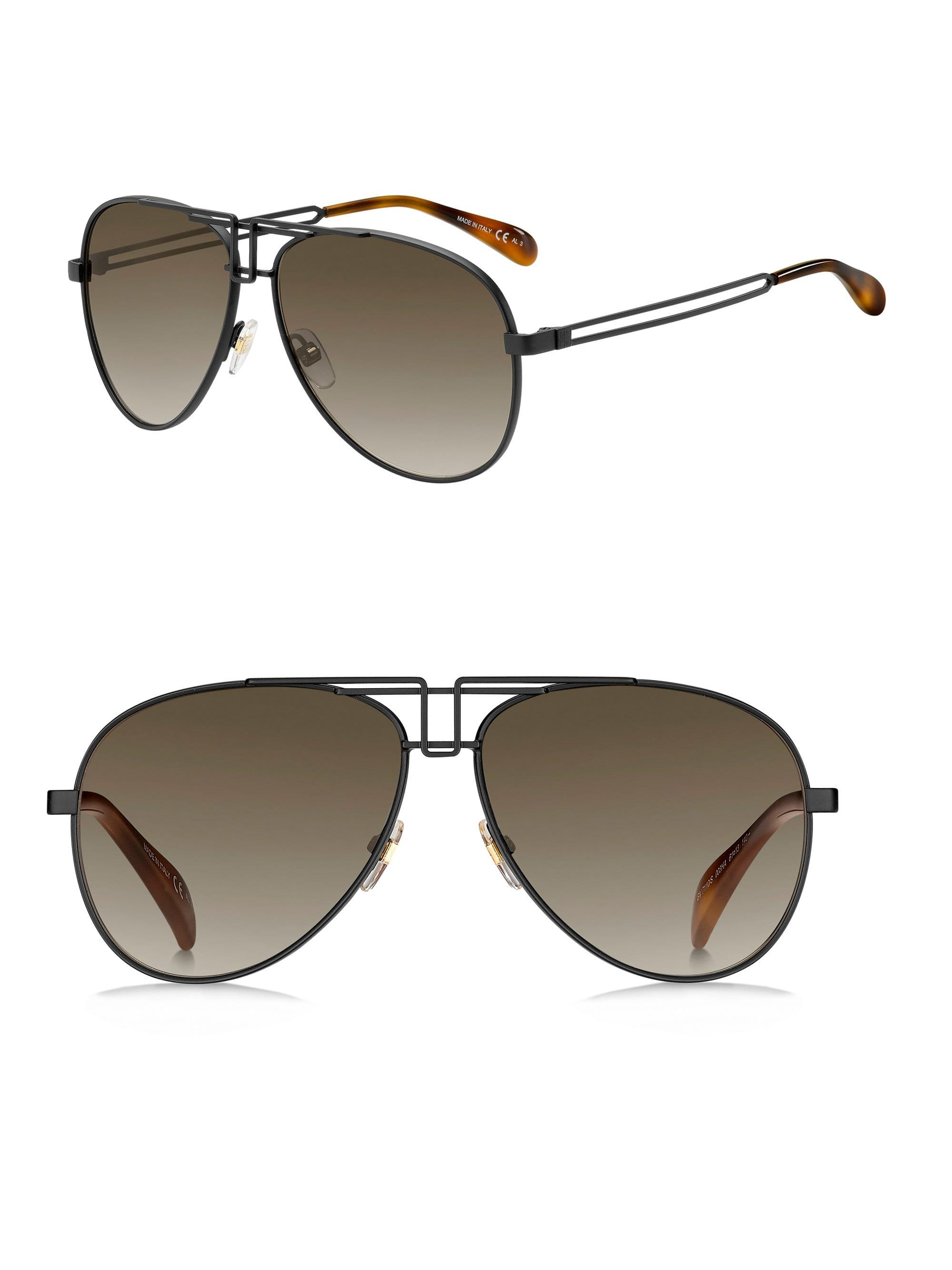 c36bff60528 Lyst - Givenchy 61mm Aviator Sunglasses for Men