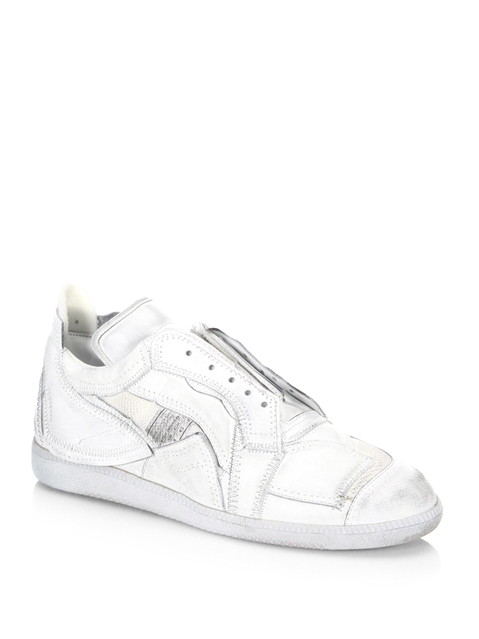 Maison Margiela White Collage Sneakers d83jr73