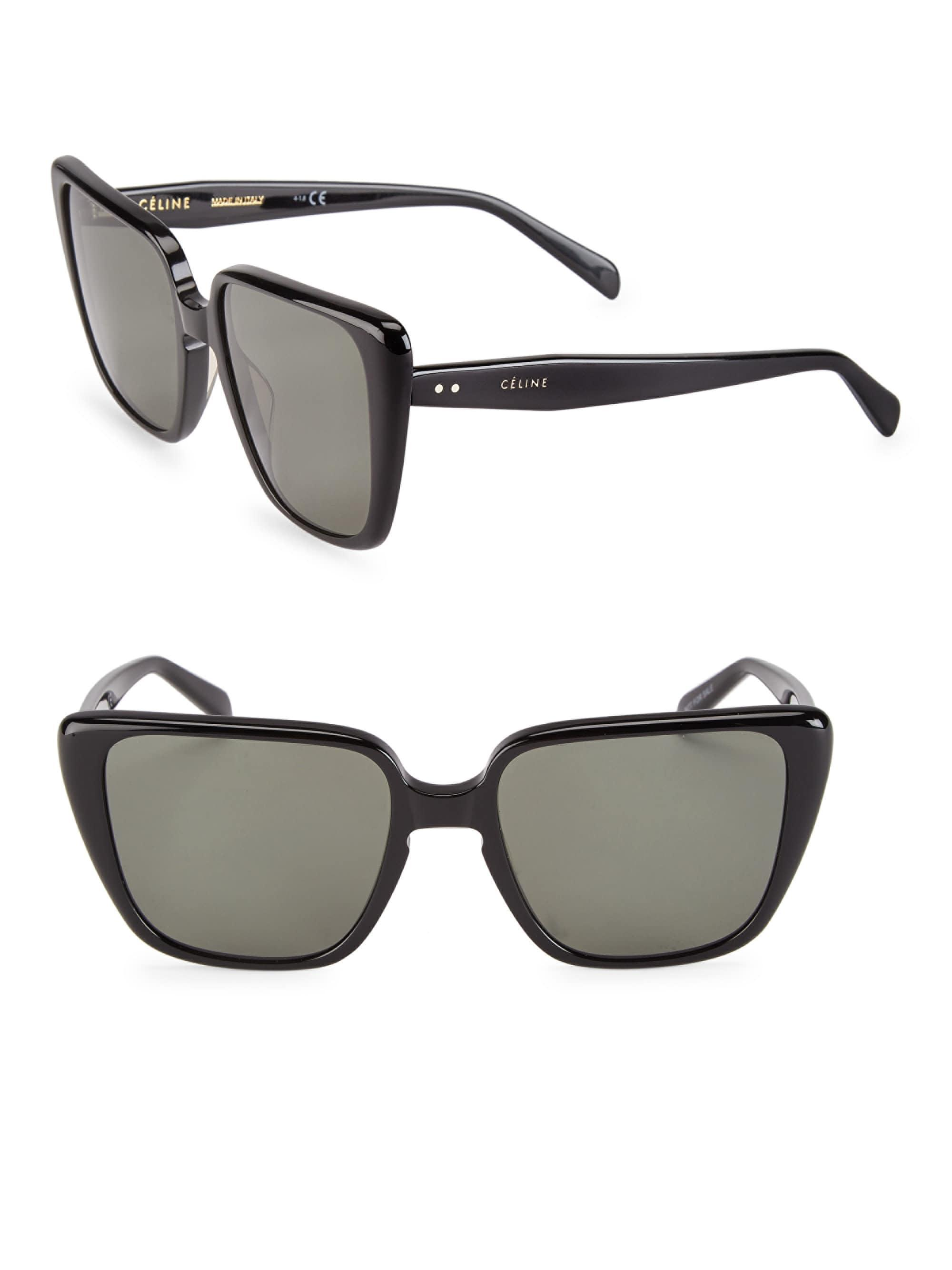 de89253a86f Céline - Black Cl40047i Oversized Cateye Sunglasses - Lyst. View fullscreen