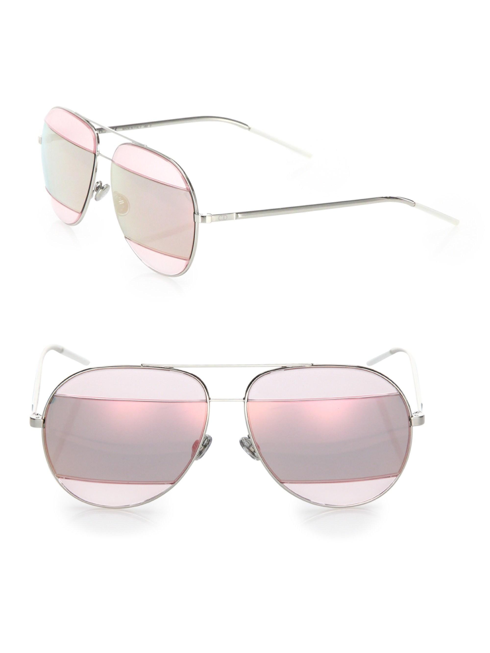 3b7a3c1441 Gallery. Previously sold at  Saks Fifth Avenue · Women s Mirrored Sunglasses