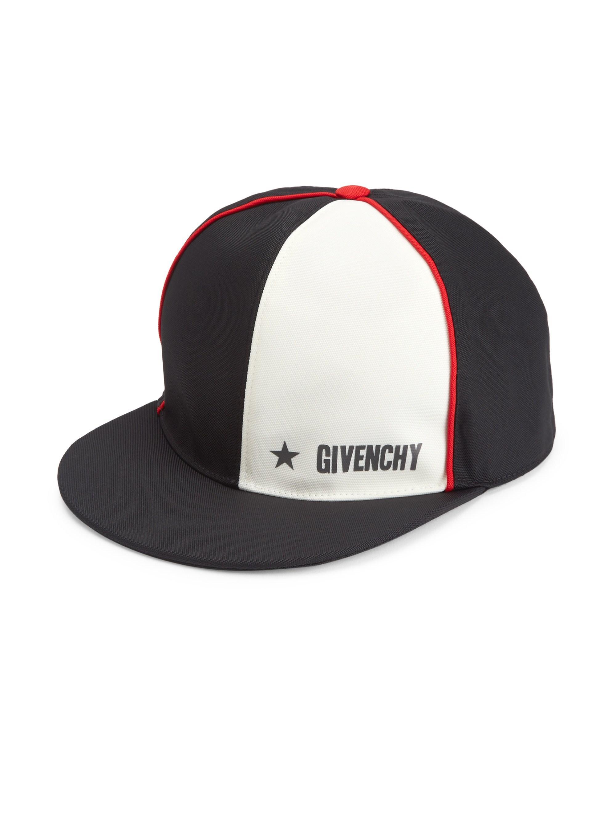 Givenchy - Men s Colorblock Baseball Cap - Black for Men - Lyst. View  fullscreen d5a0b2f4211e