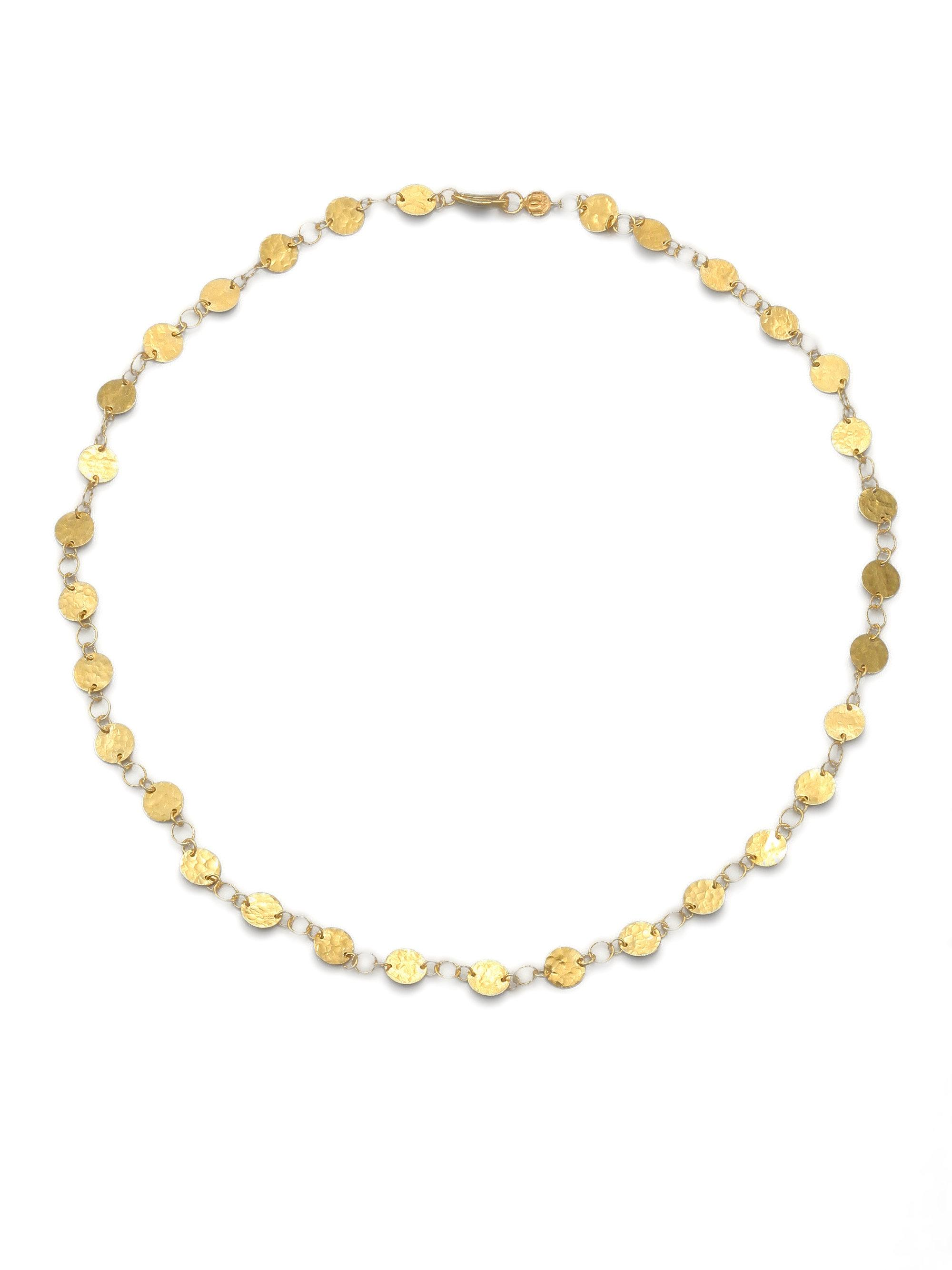 Gurhan 24k Lush Mixed Flake Chain Bracelet