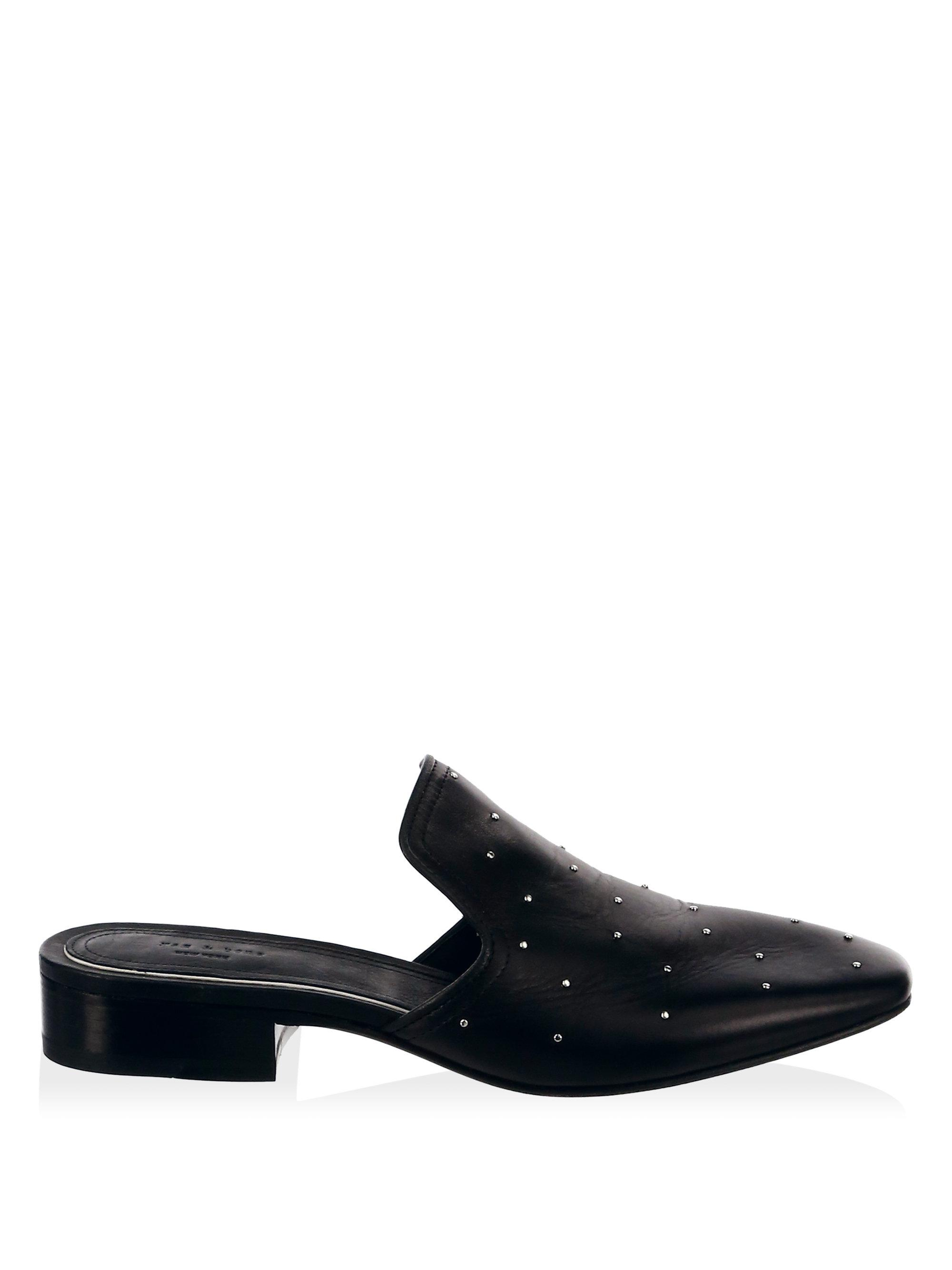 RAG&BONE Luis Studded Leather Loafers tUx1ue1K