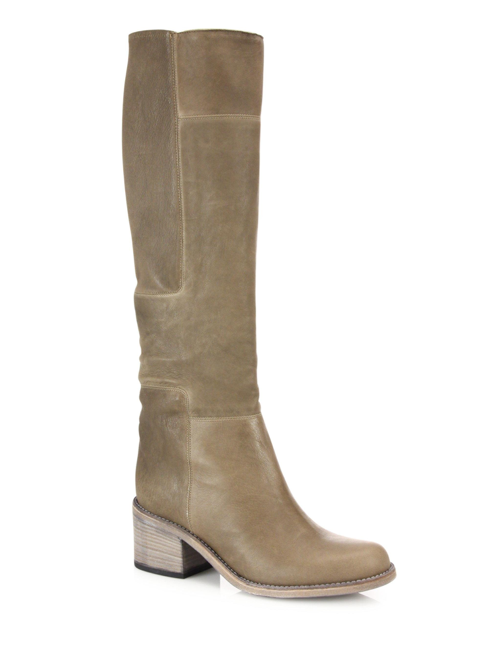 LD Tuttle - Brown The Lost Leather Knee-High Boots - Lyst. View fullscreen