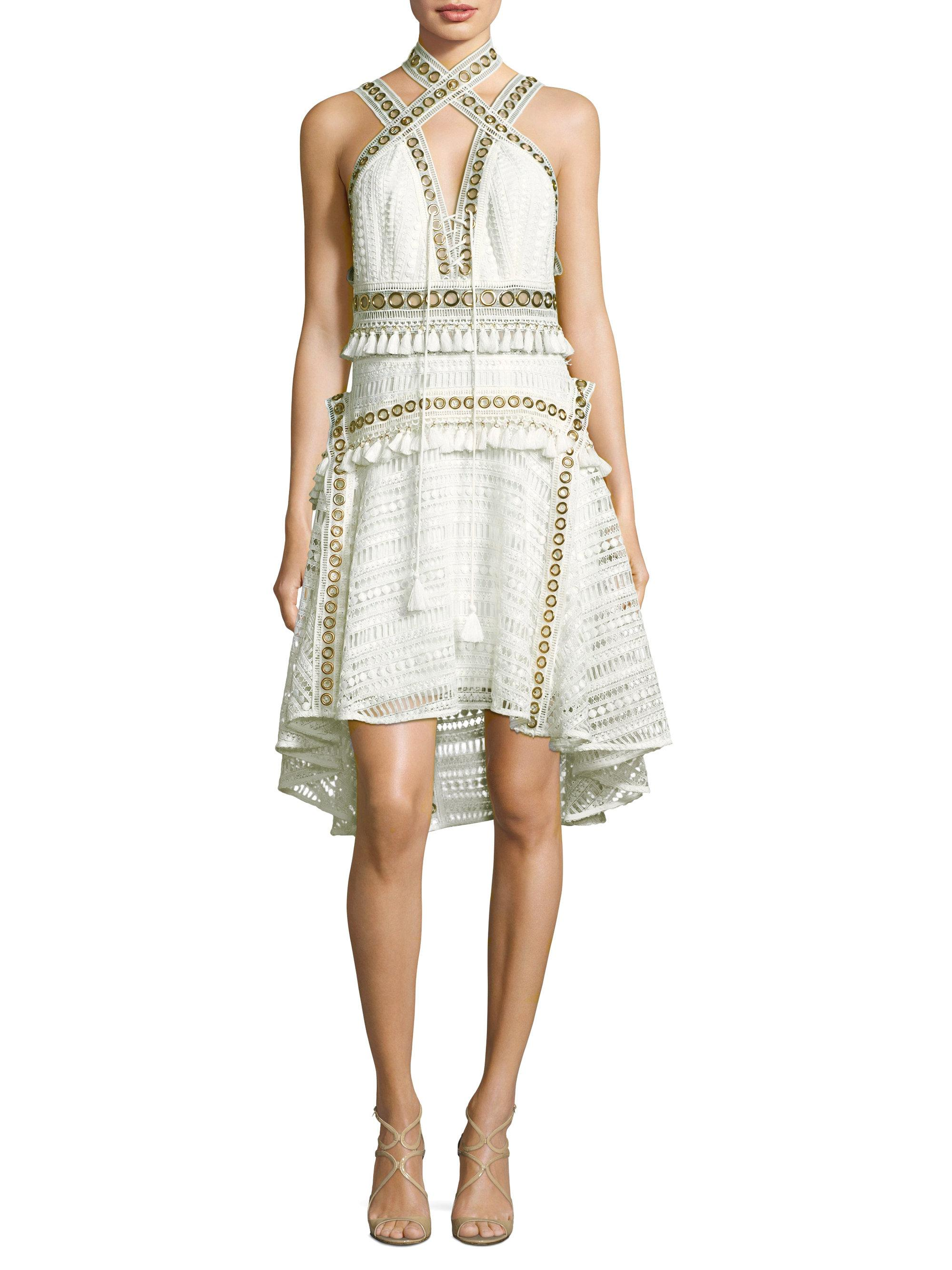 949b51e26e7 Thurley Lilly Fit- -flare Dress in White - Lyst